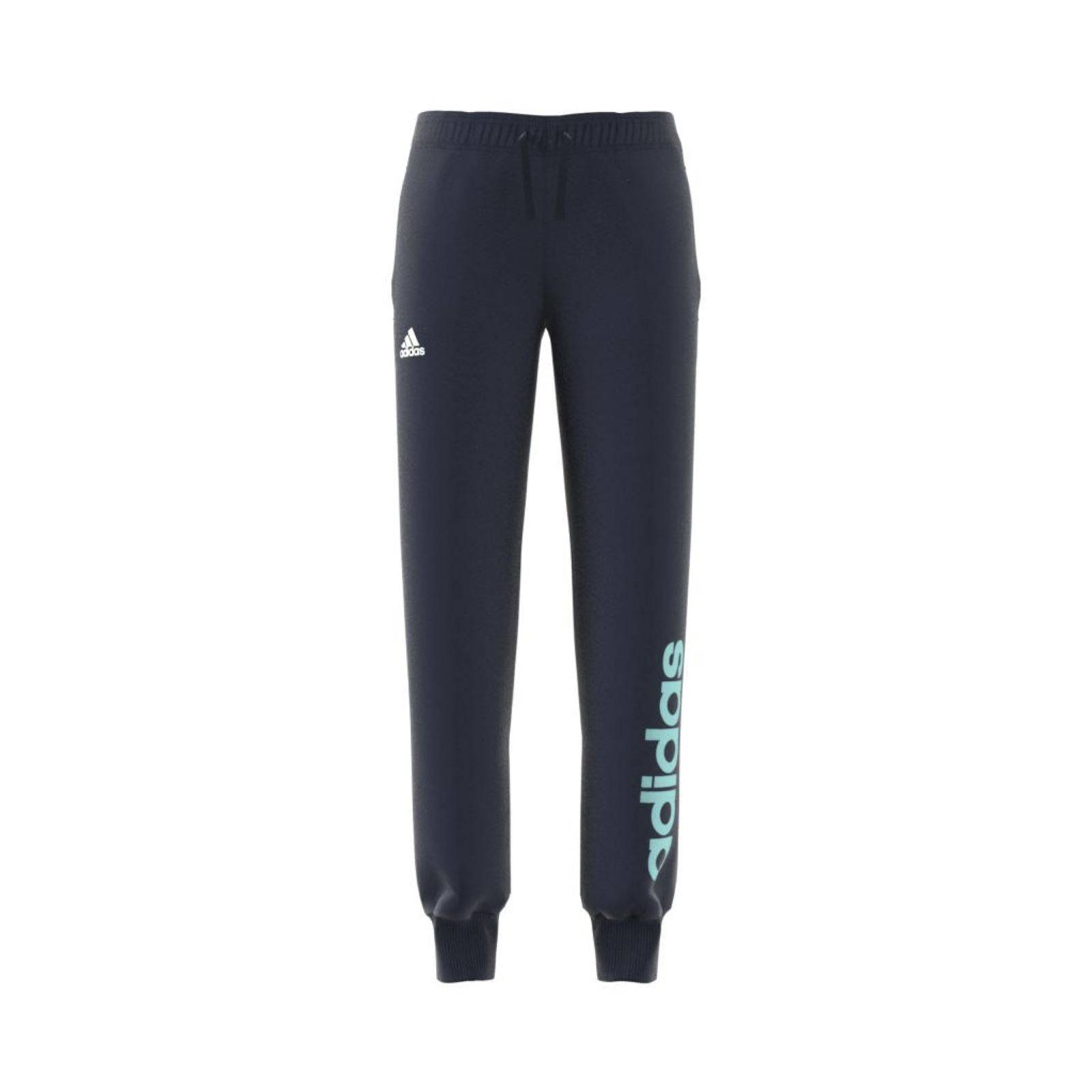 adidas performance pantalon jogging bleu marine ebay. Black Bedroom Furniture Sets. Home Design Ideas