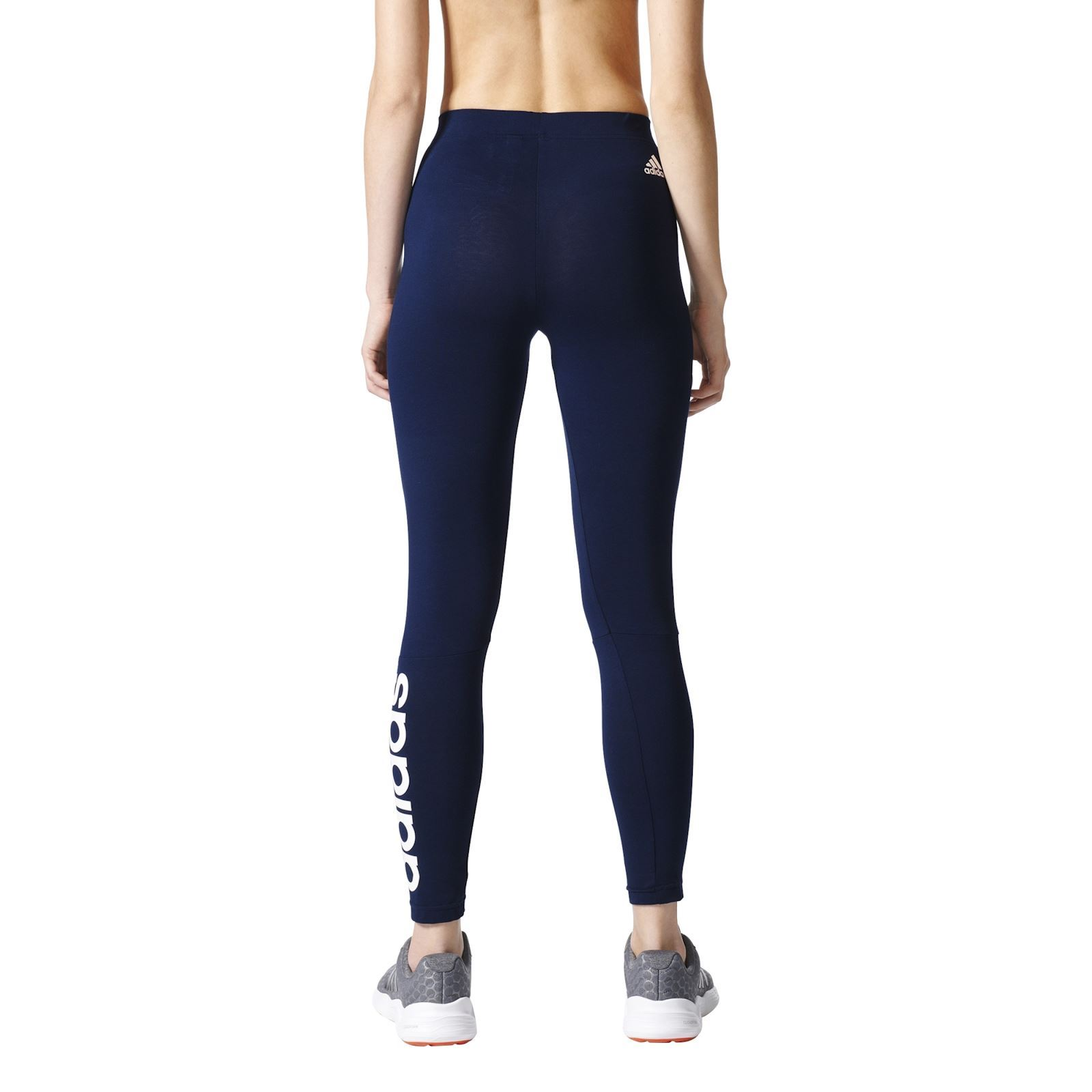 adidas performance leggings blu scuro brandalley. Black Bedroom Furniture Sets. Home Design Ideas