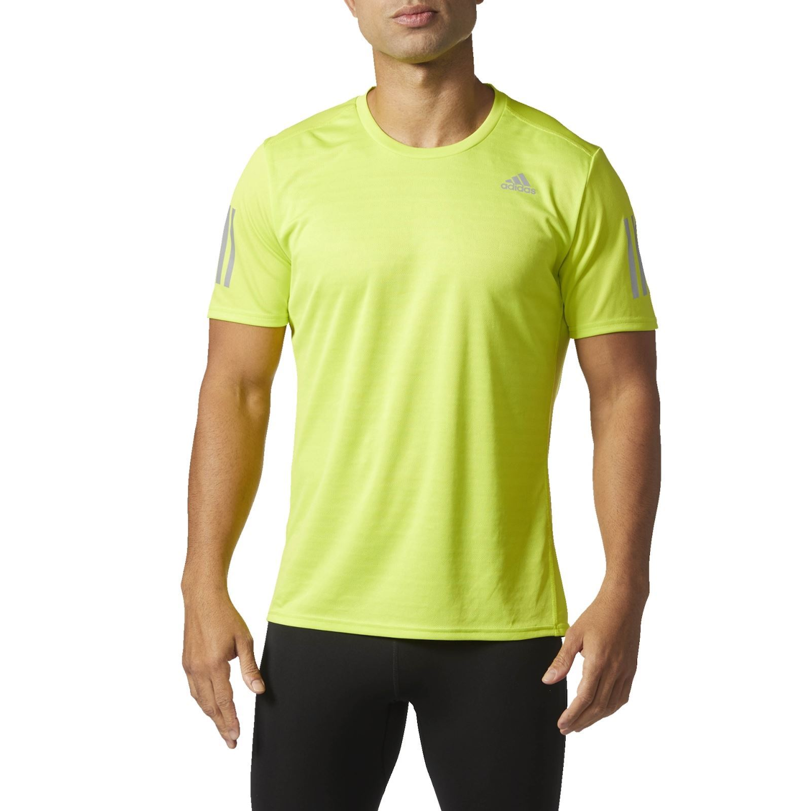 Adidas Performance T-shirt manches courtes - jaune