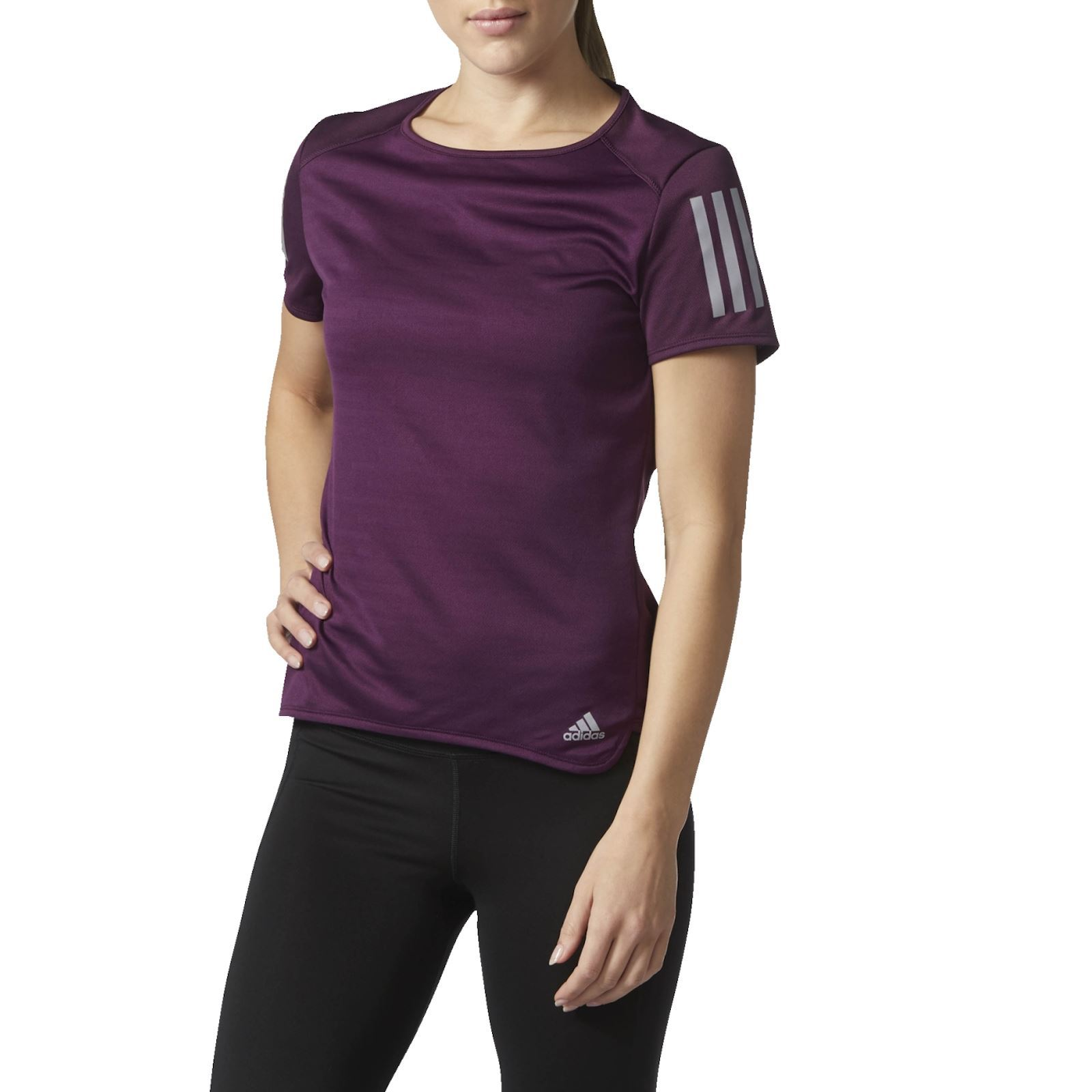 Adidas Performance T-shirt manches courtes - violet