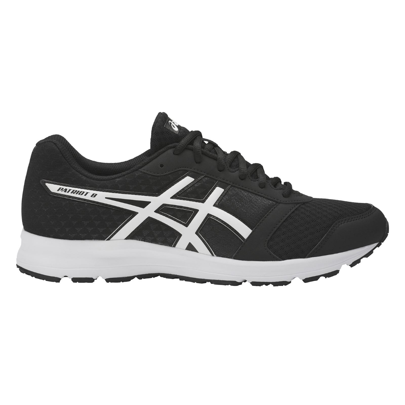 asics patriot 8 chaussures de sport noir brandalley. Black Bedroom Furniture Sets. Home Design Ideas