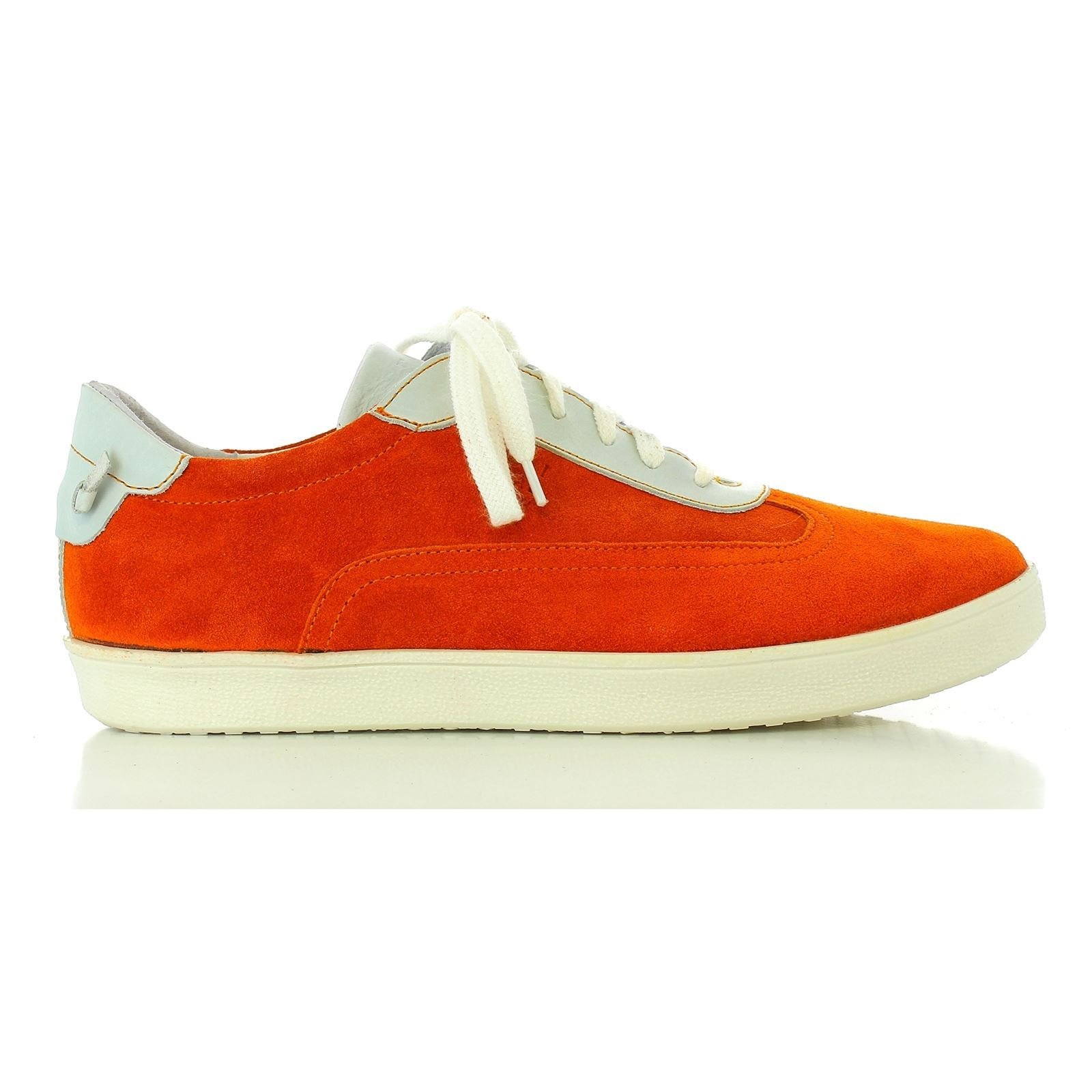 Elizabeth Stuart Juna 717 - Baskets en cuir - orange