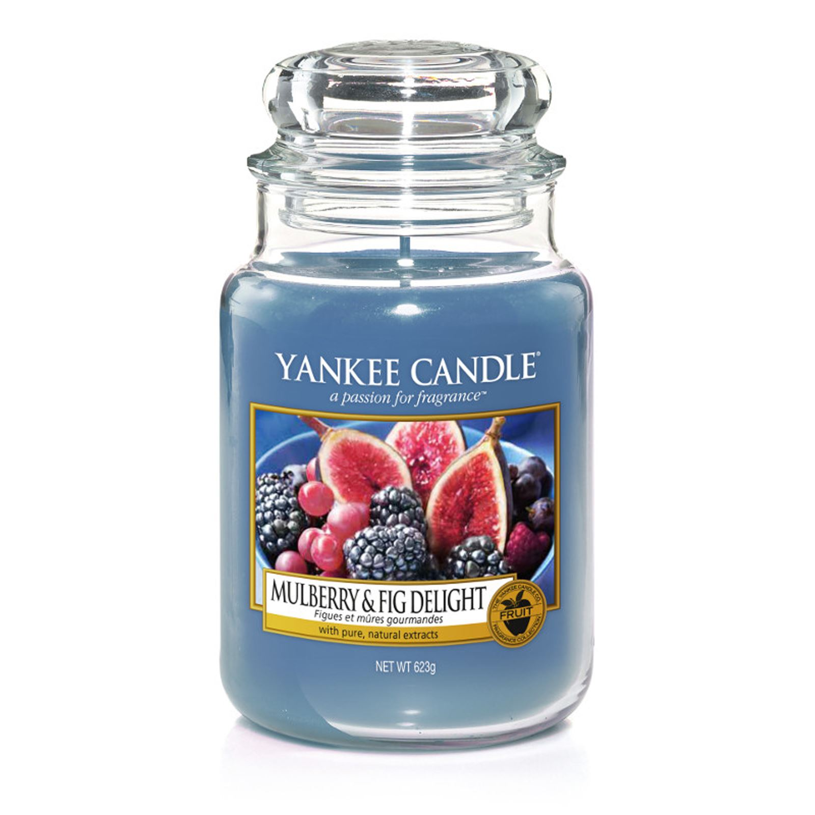 yankee candle figues et m res gourmandes bougie parfum e. Black Bedroom Furniture Sets. Home Design Ideas