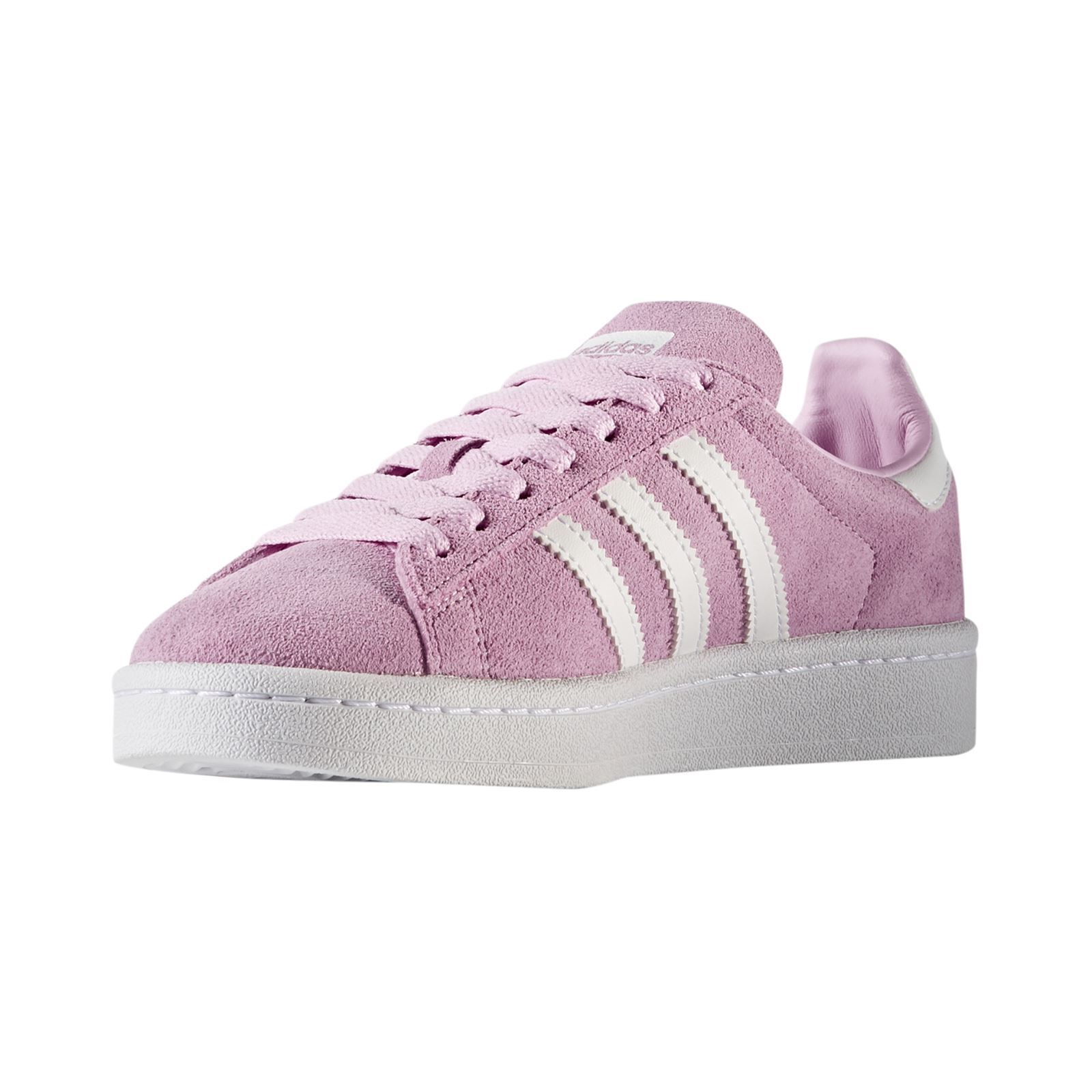 adidas originals campus sneakers mit lederanteil rosa. Black Bedroom Furniture Sets. Home Design Ideas