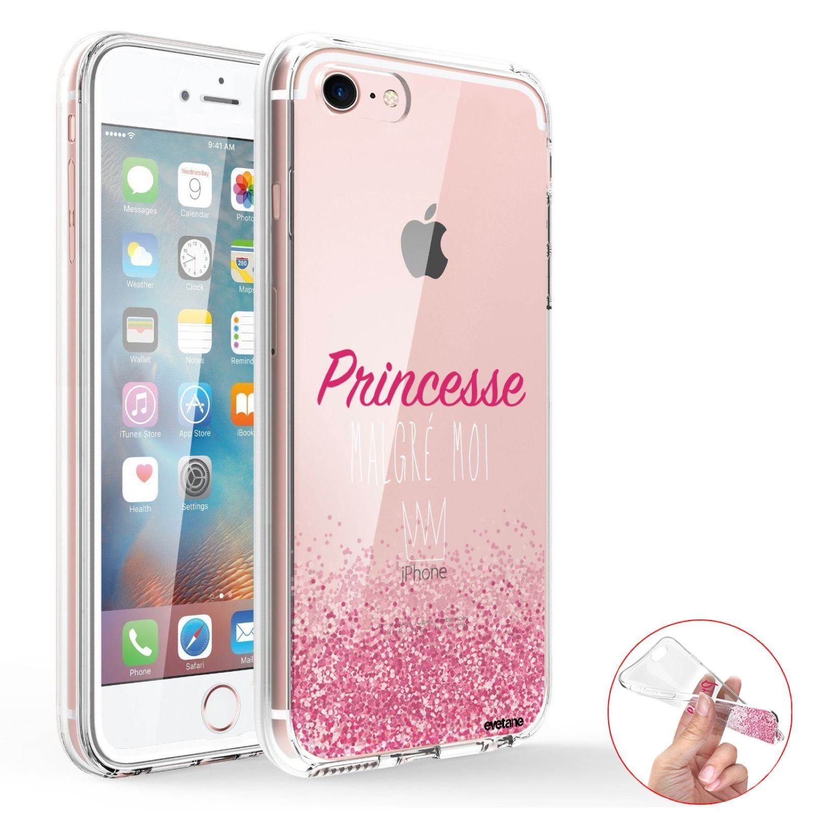 iphone 7 coque princesse