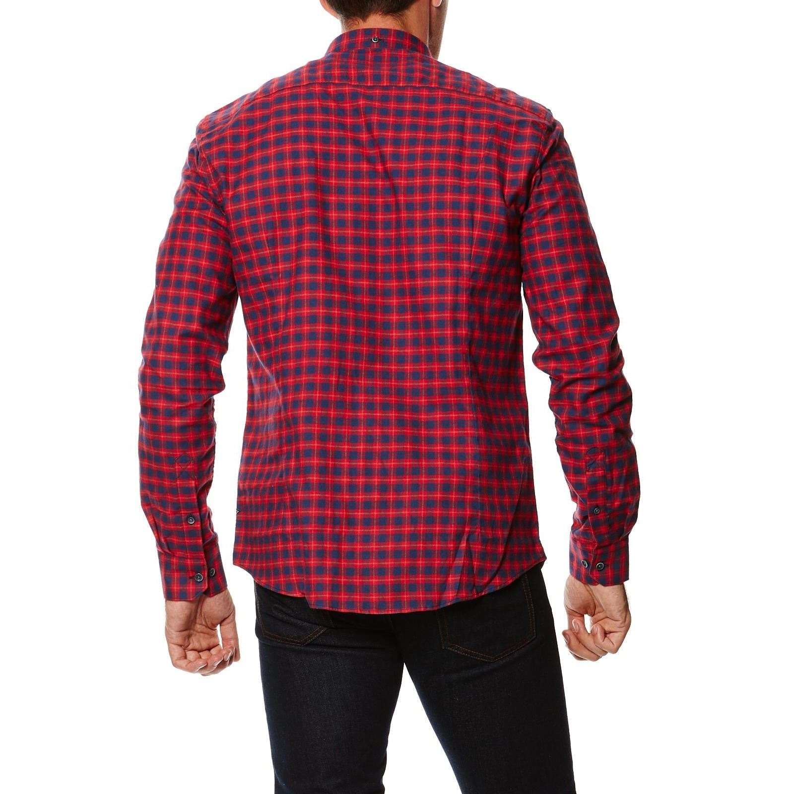 3e9977379bf68a Steve Mc Queen Barbour Chemise - rouge   BrandAlley