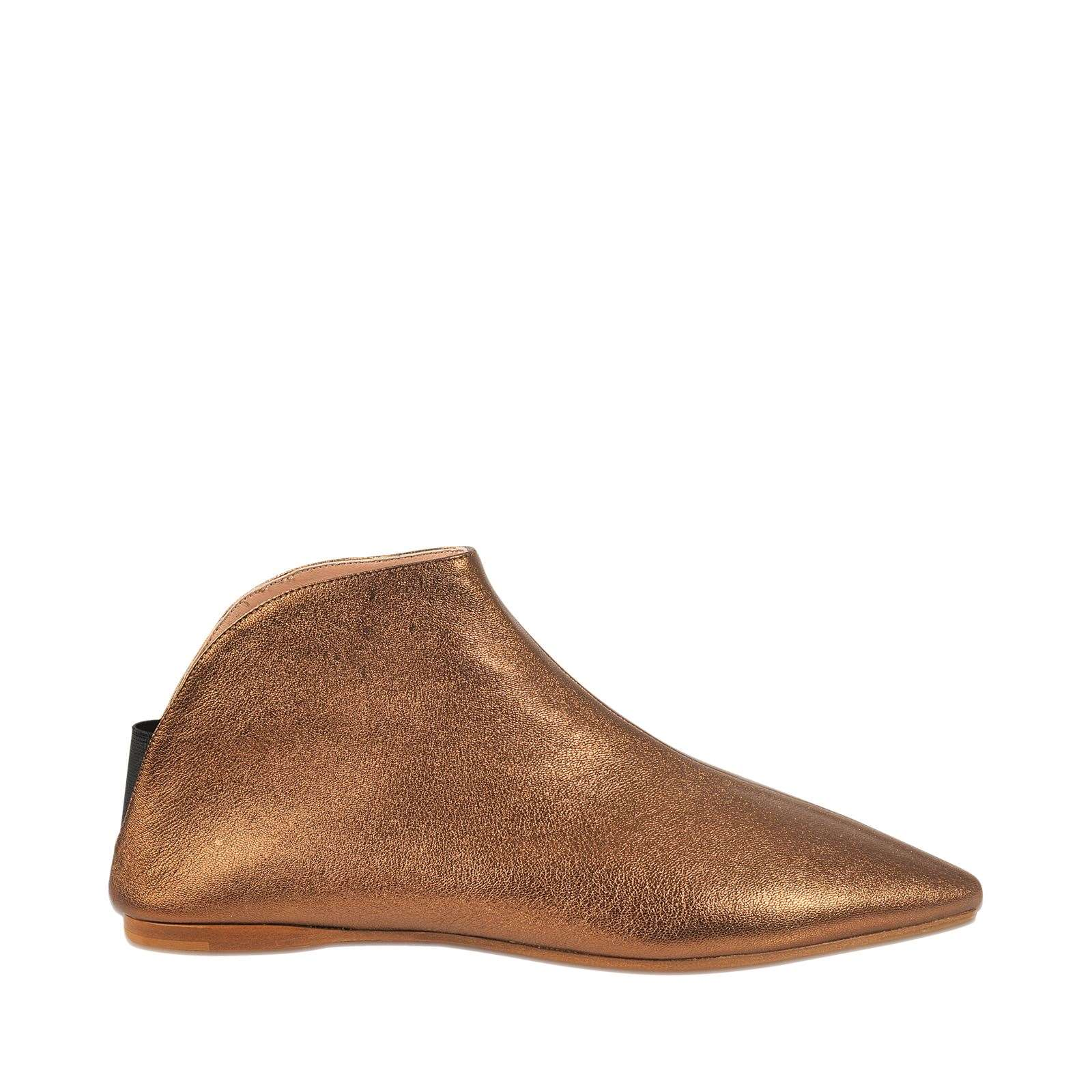 Studios Ame Space  Bottines En Cuir  Marron