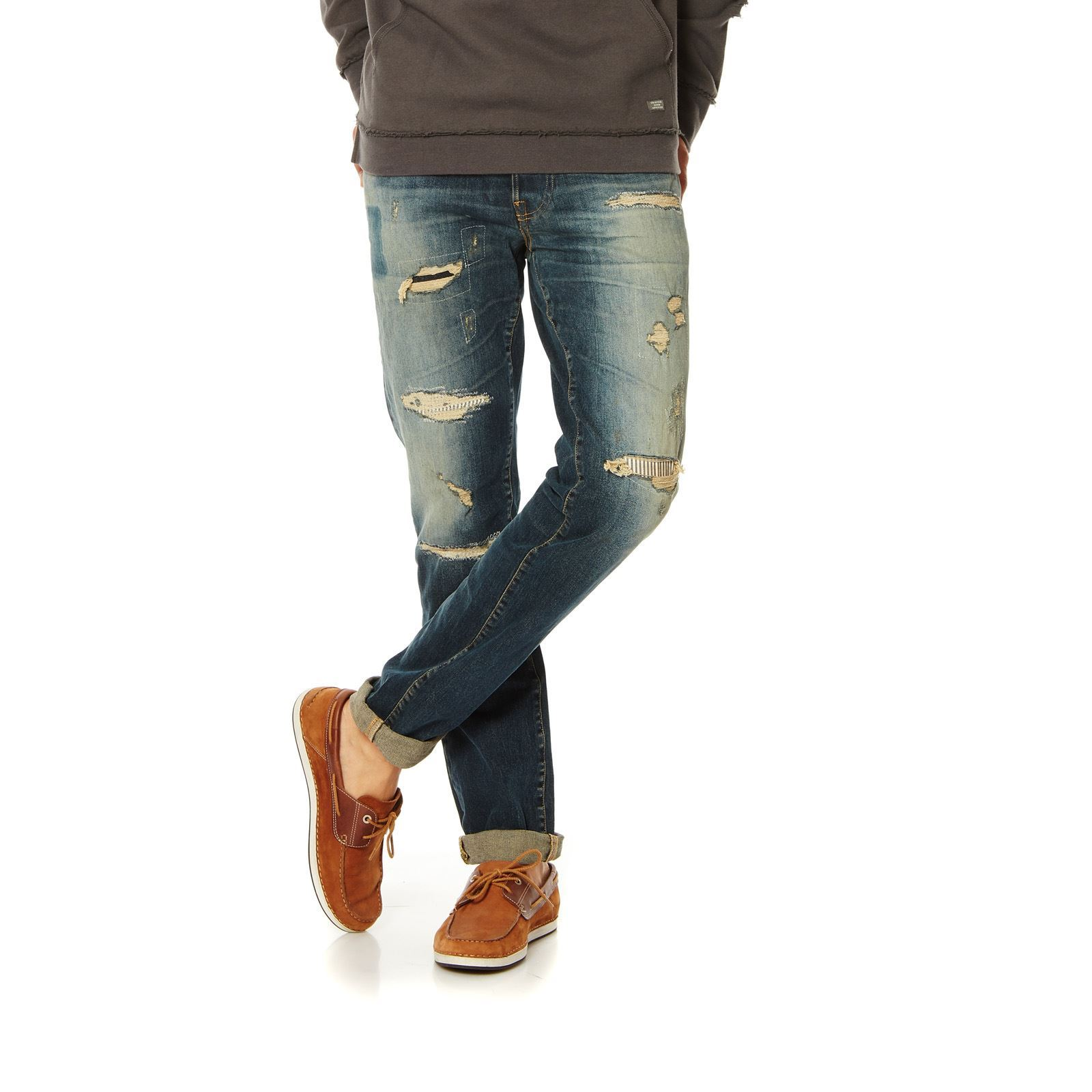 Jack  Jones Jean slim - denim bleu