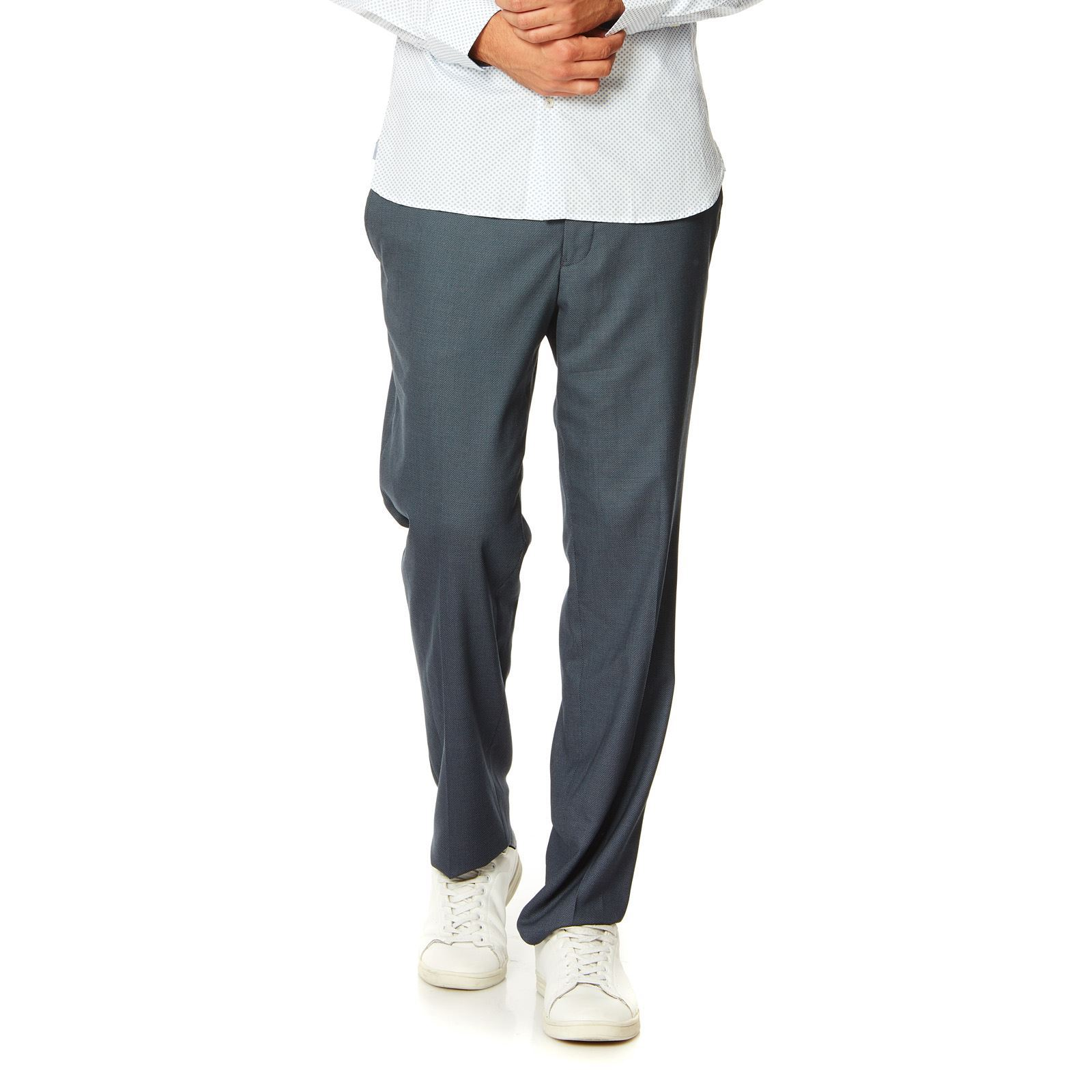 Jack  Jones Pantalon droit - bleu marine