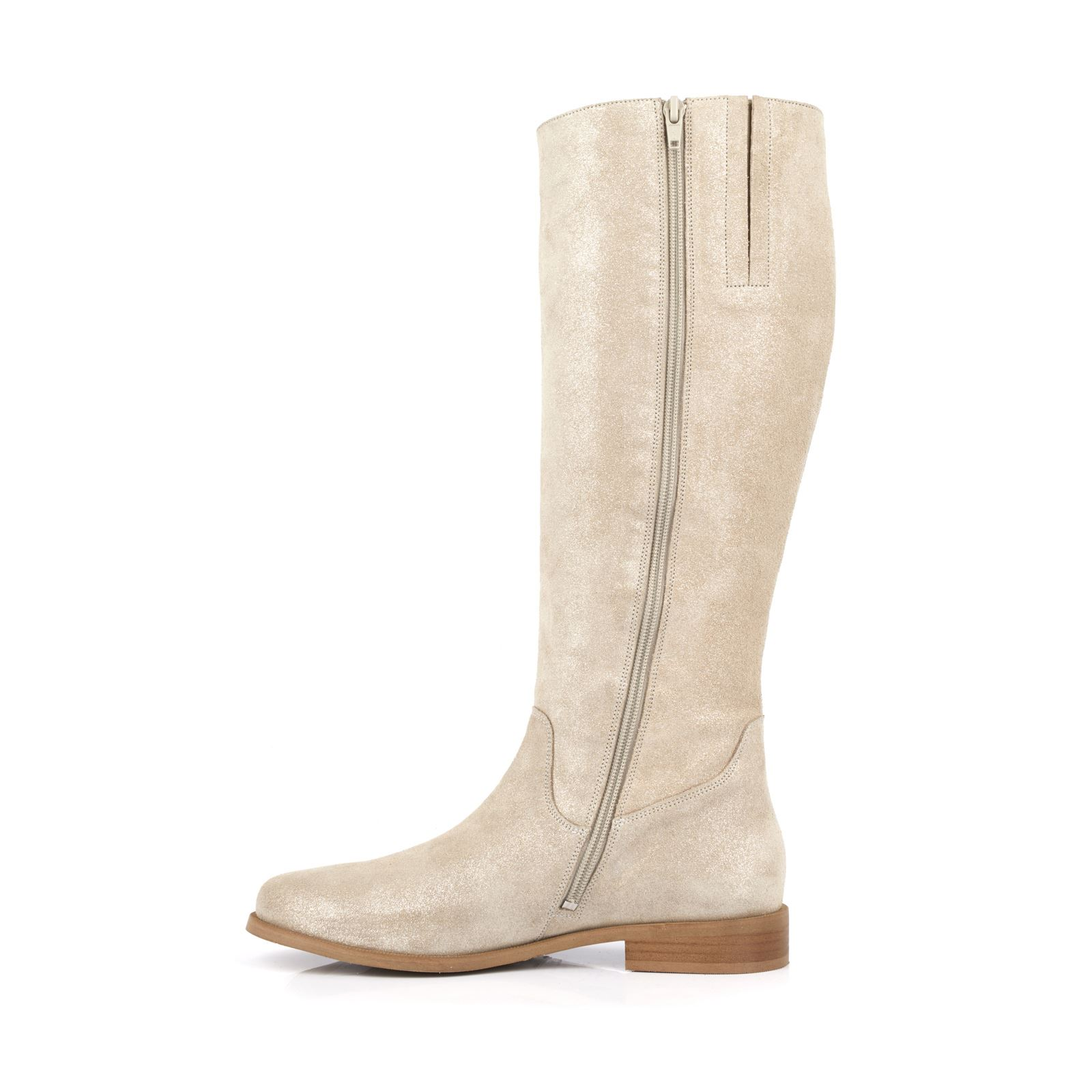 MELLOW YELLOW Chary , Bottes en cuir , beige