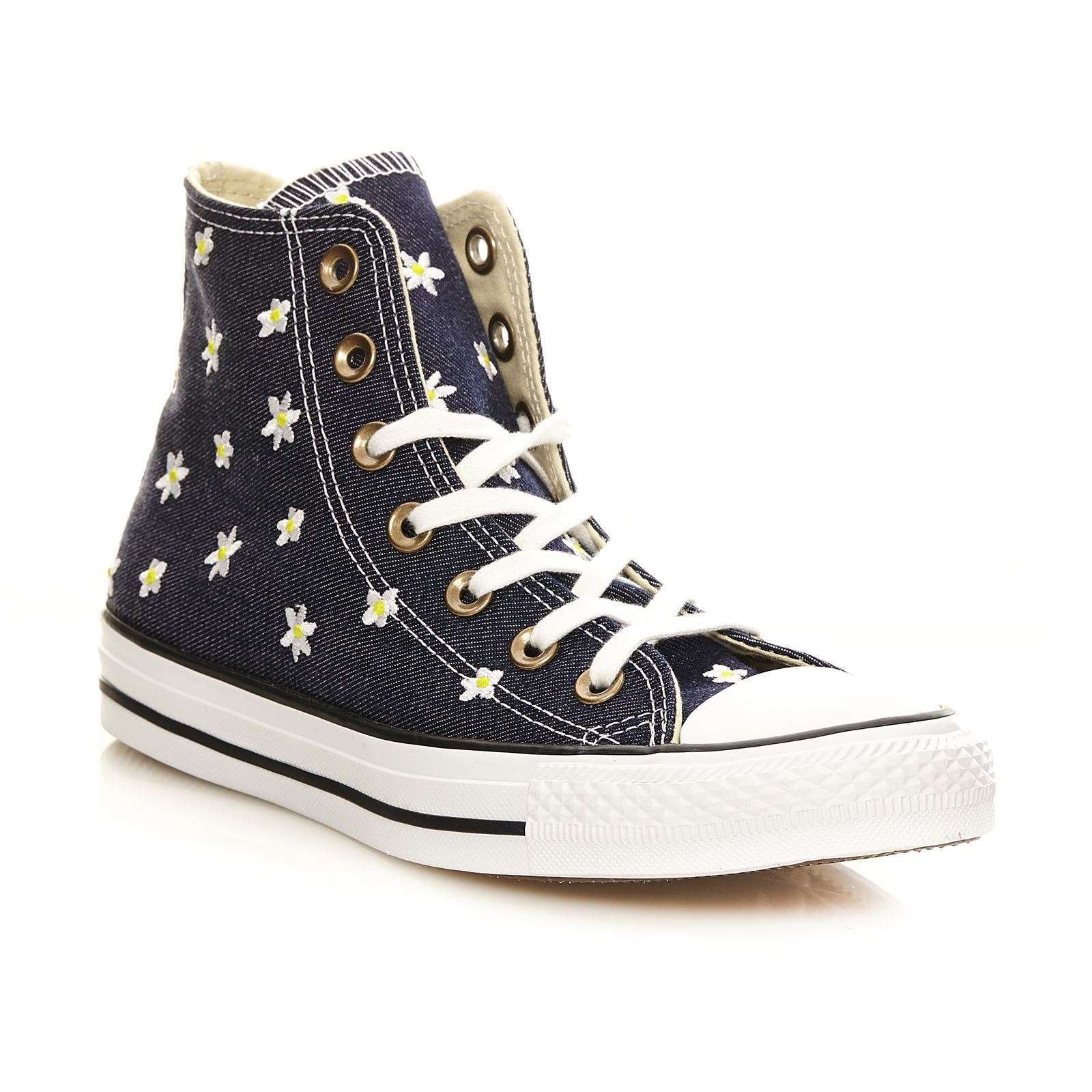 converse chuck taylor all star hi turnschuhe high blau. Black Bedroom Furniture Sets. Home Design Ideas