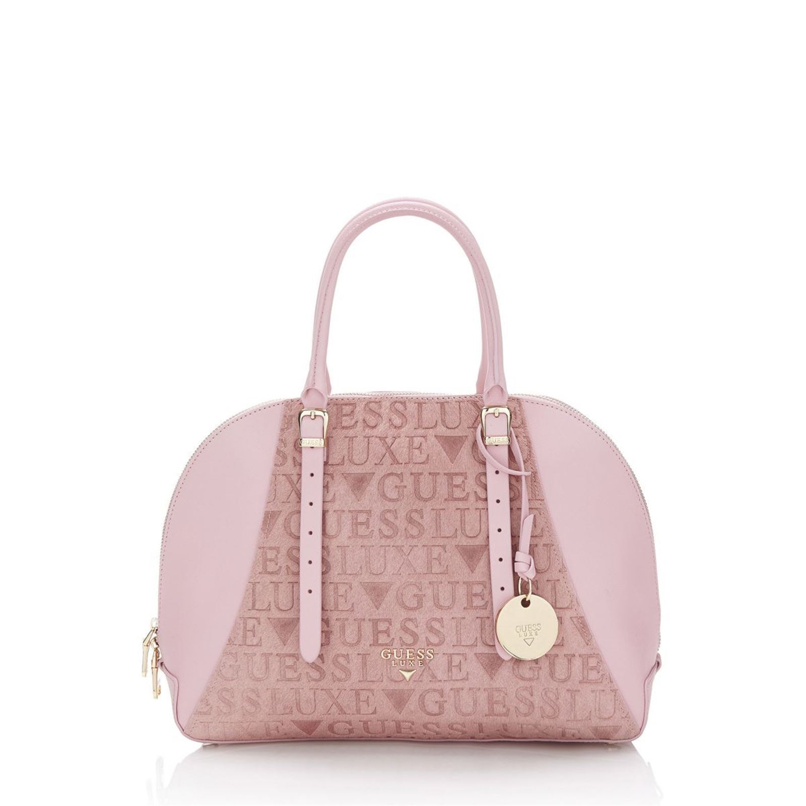 dcec59d6f4 Guess Lady luxe - Sac à main en cuir - rose | BrandAlley