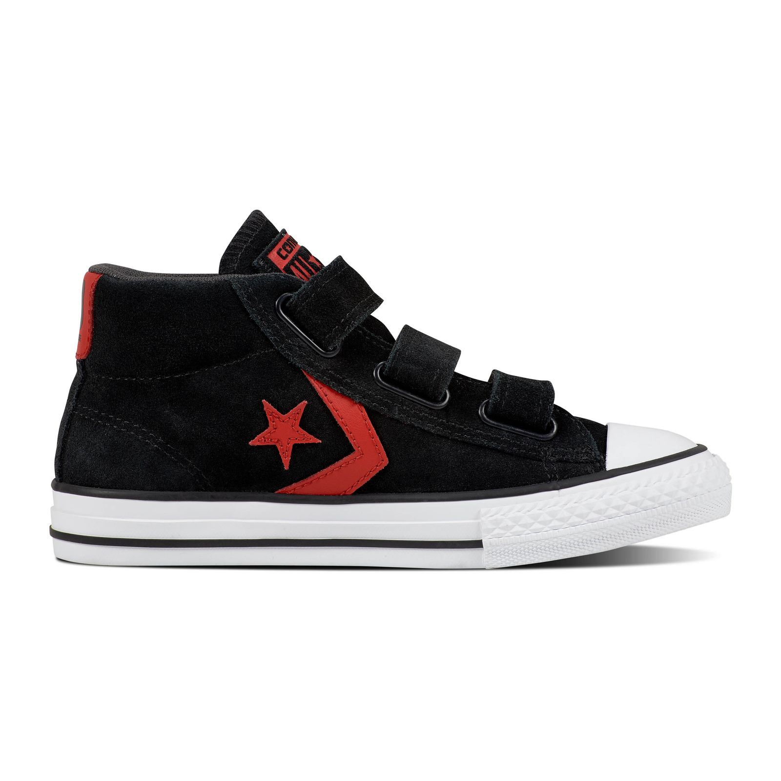 converse noir junior