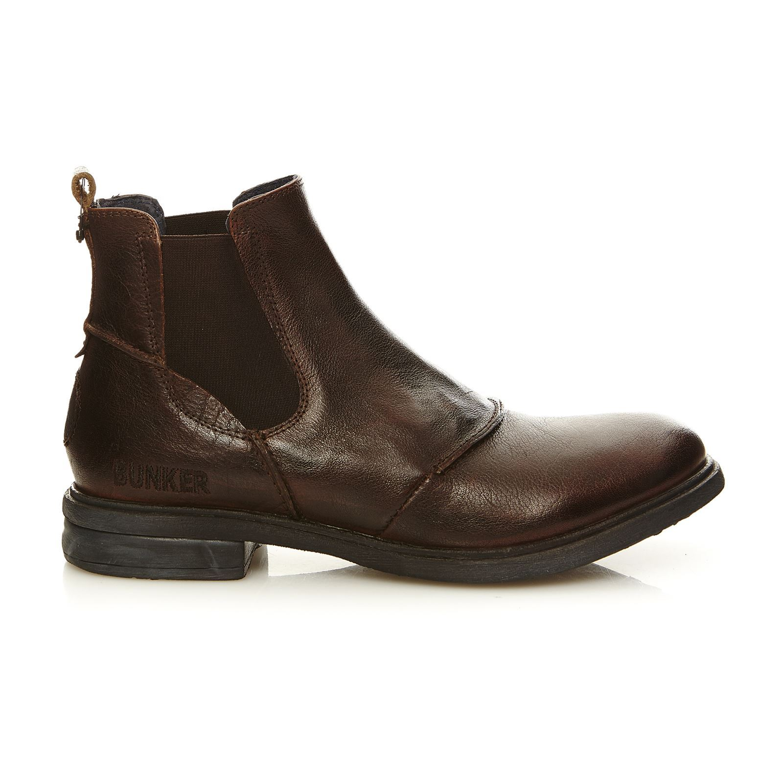 Bunker One - Boots en cuir - marron clair