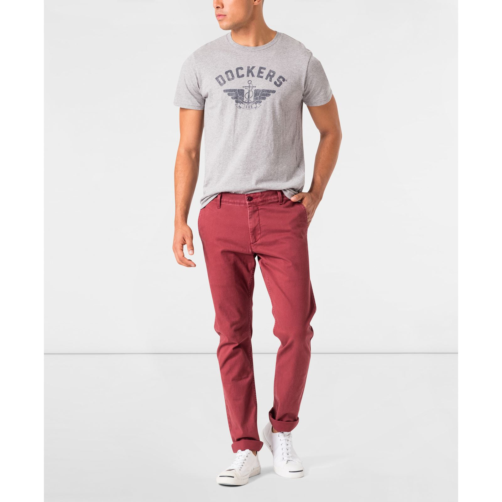 JCPenney - He'll be well dressed in our men's Dockers pants, clothes & shirts, whether you're business casual or just casual. FREE shipping available!