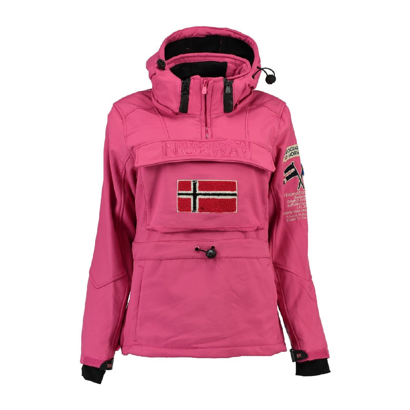 geographical norway tilsitt parka rosa brandalley. Black Bedroom Furniture Sets. Home Design Ideas