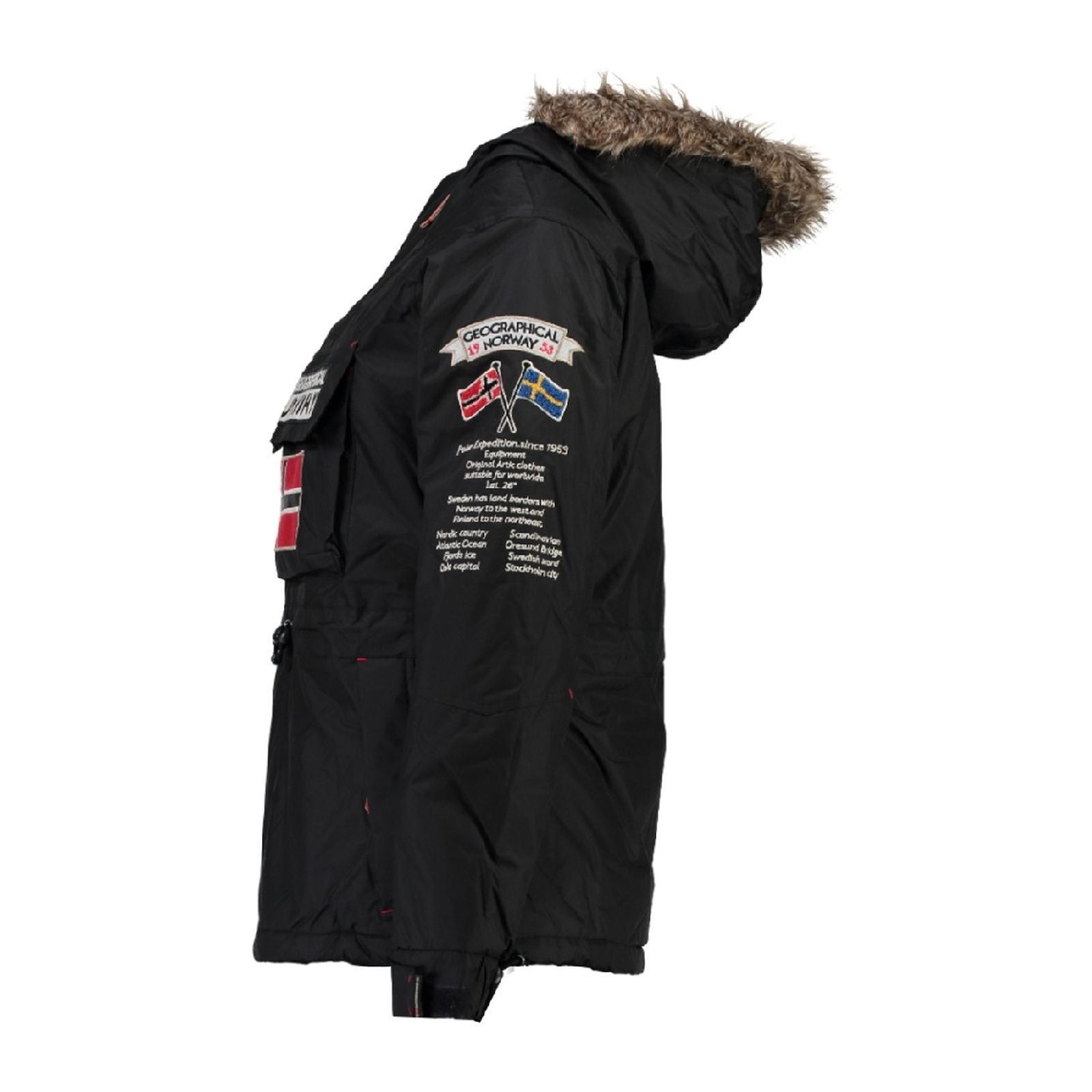 Norway Boomera Parka Geographical Brandalley Noir FPqFUcd