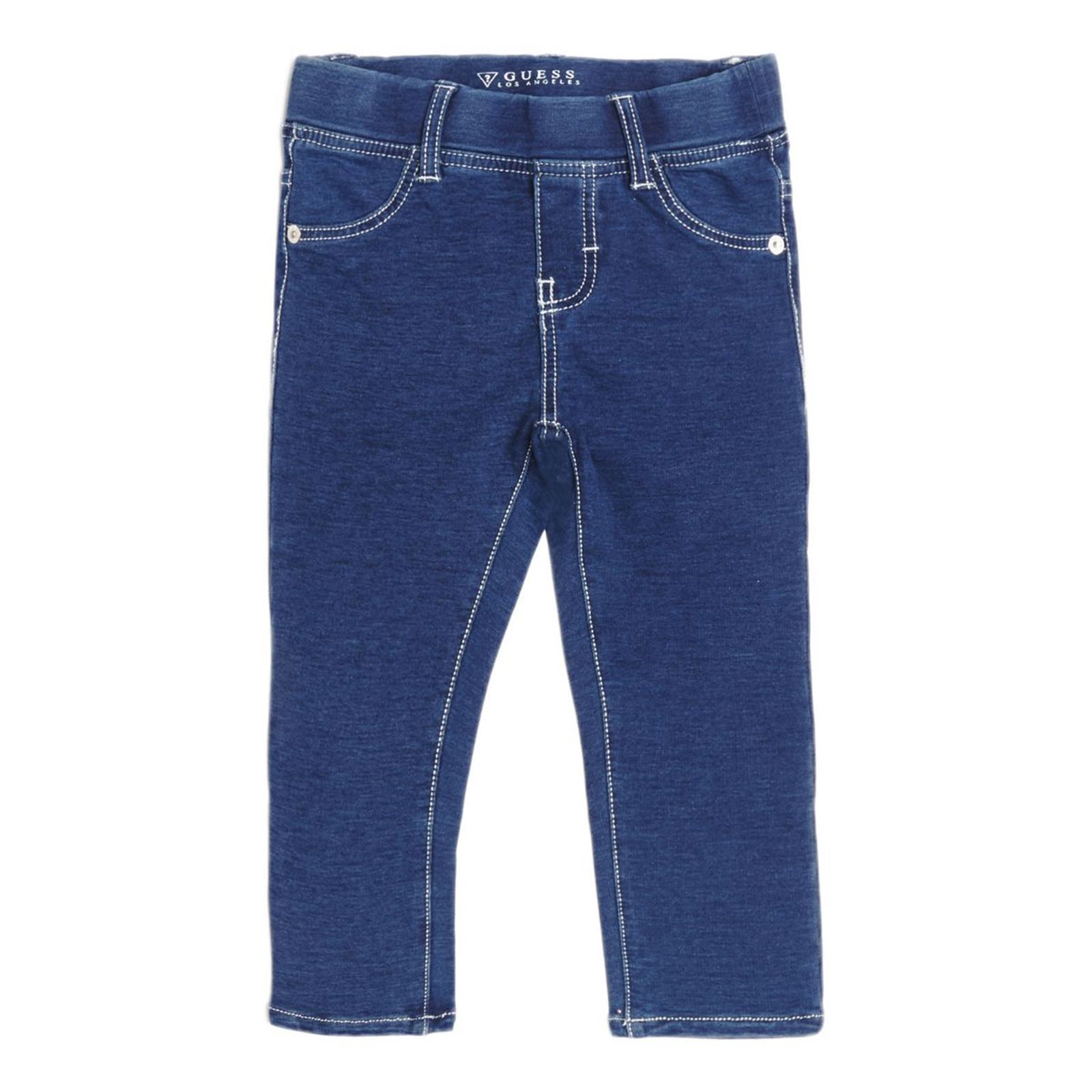 Guess Kids Jegging en coton - bleu