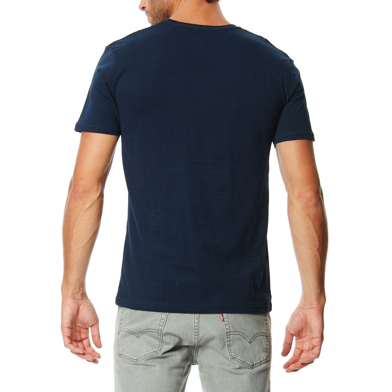 quiksilver t shirt bleu marine brandalley. Black Bedroom Furniture Sets. Home Design Ideas