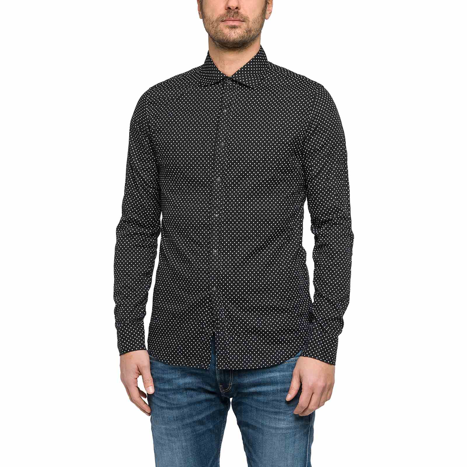 Replay Chemise casual - noir