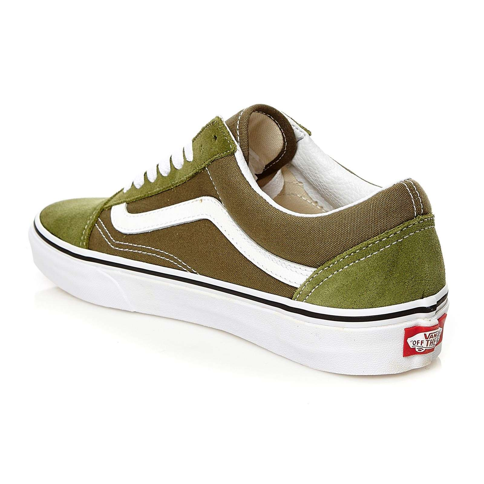 vans ua old skool turnschuhe sneakers khaki brandalley. Black Bedroom Furniture Sets. Home Design Ideas