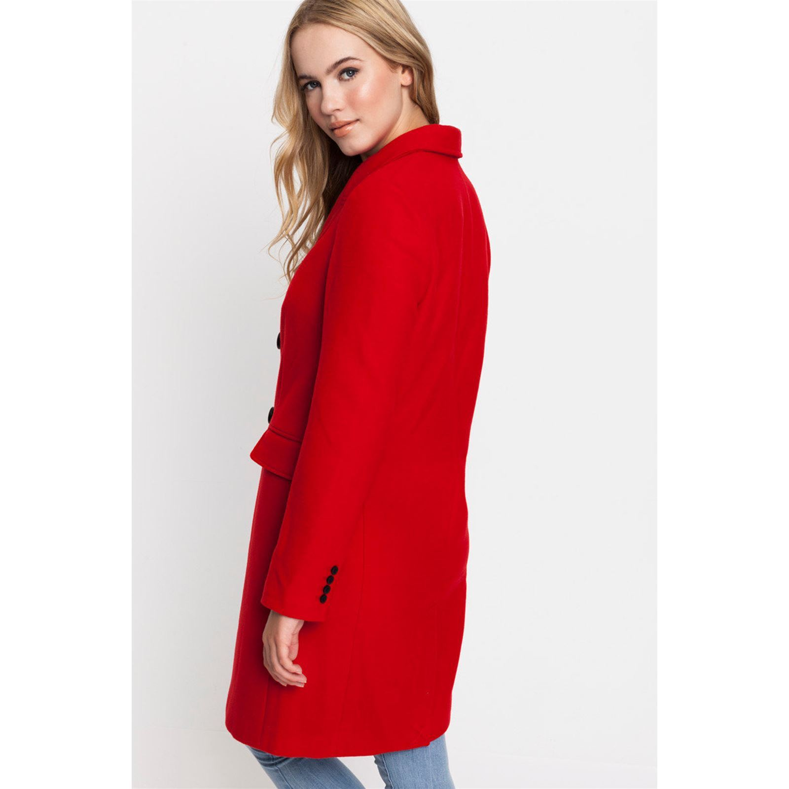 Long Tally Manteau Brandalley Weijl Rouge zzPYxEf 40ec78c8ad4