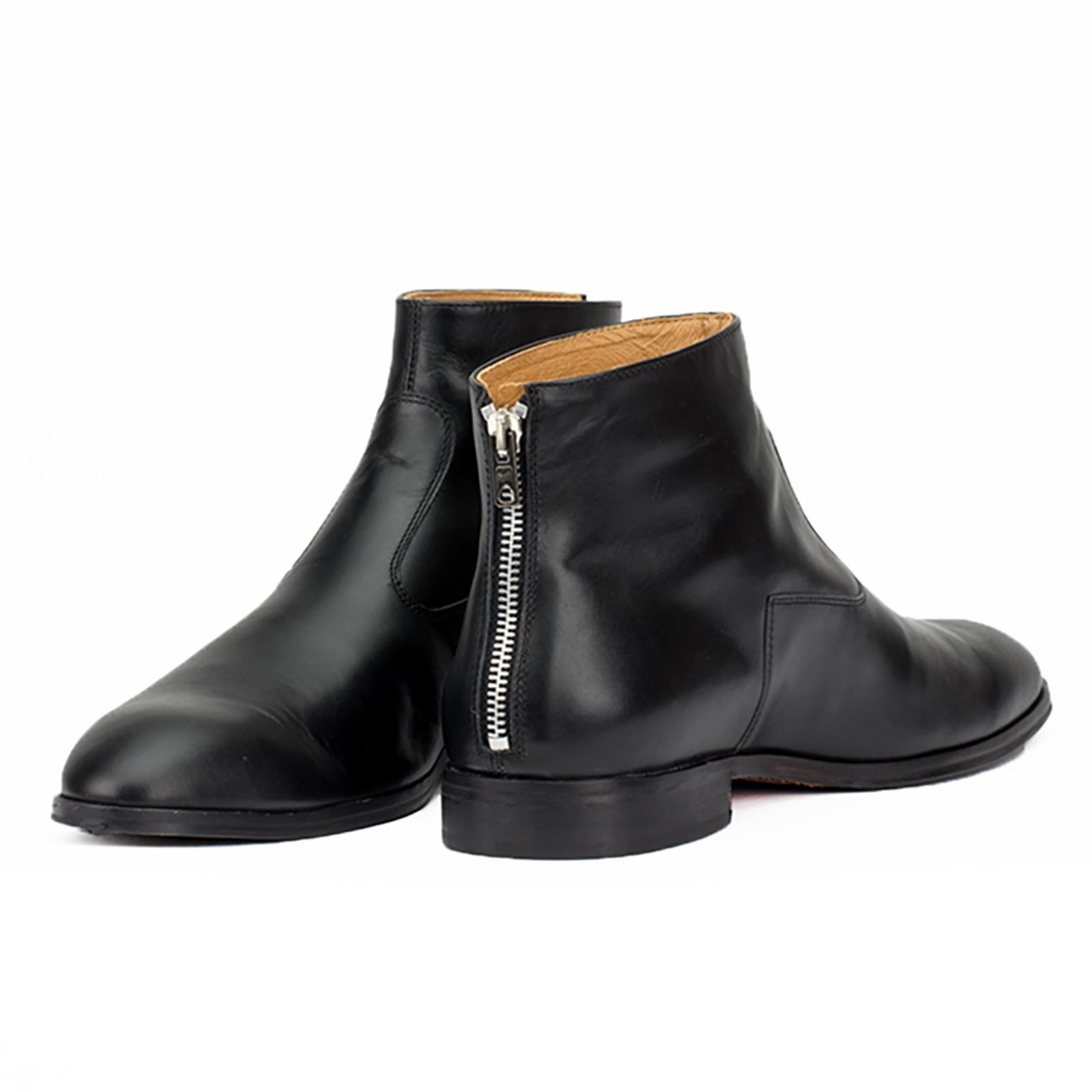 Juch Nigrigenis - Bottines en cuir - noir
