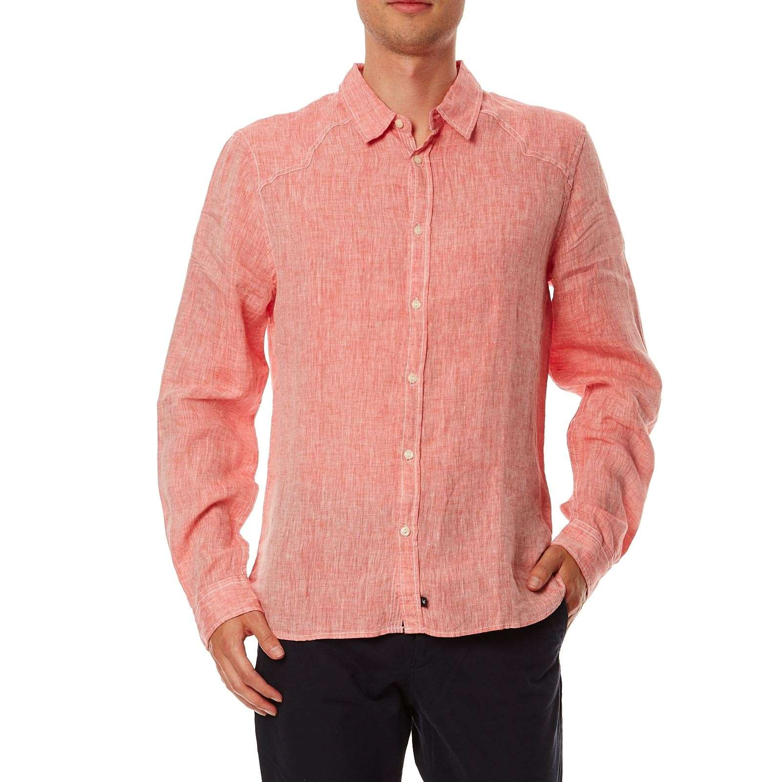 Chemise Casual  Rouge