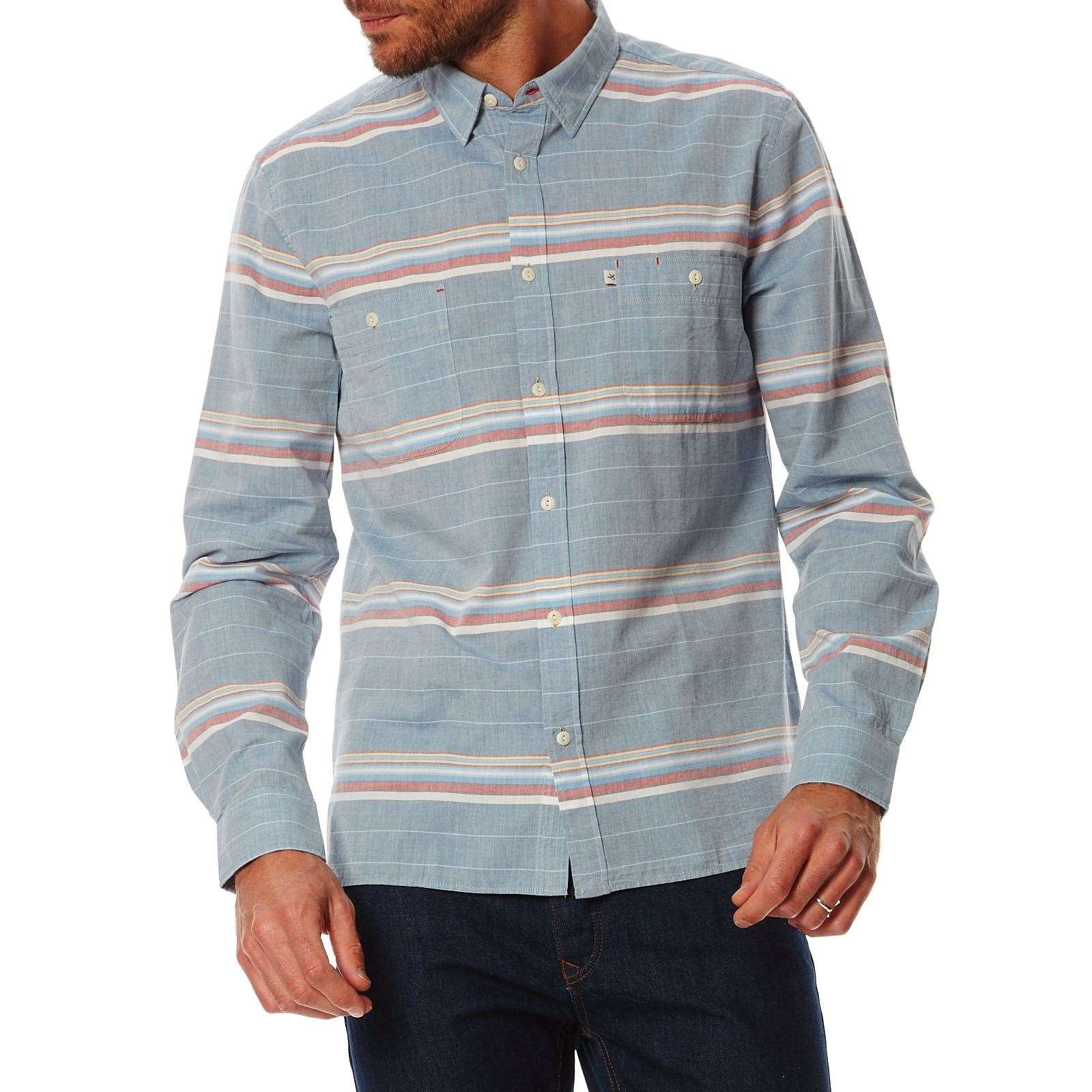 Chemise Casual  Bleu