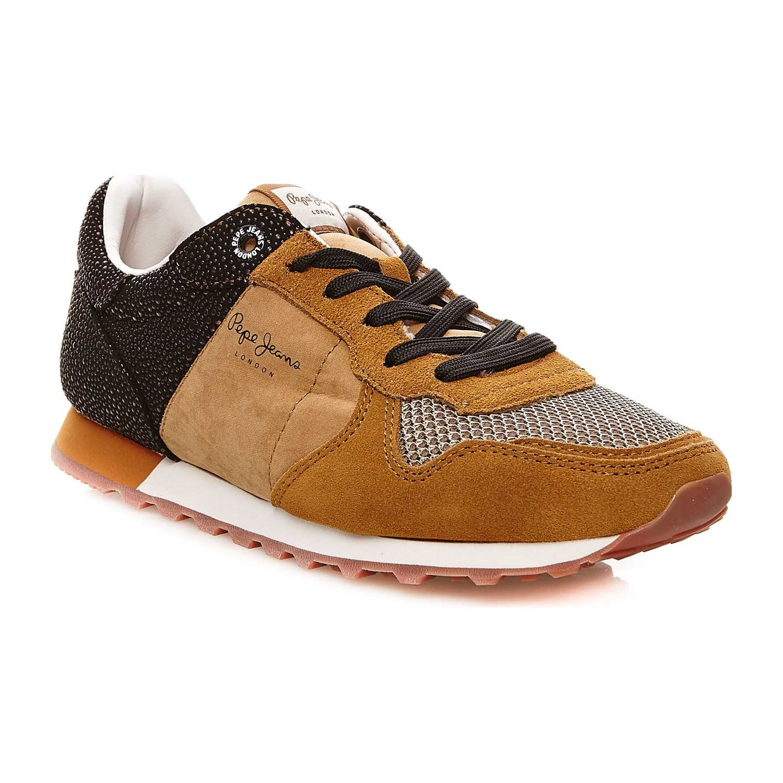 Pepe Jeans Footwear Verona W Flash - Sneakers - camel
