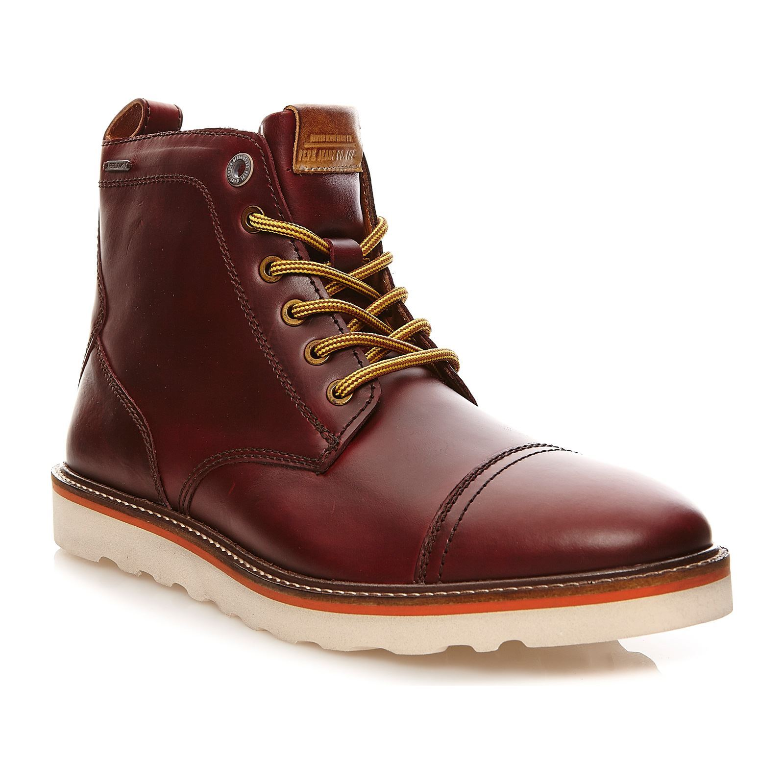 Pepe Jeans Footwear Barley Boot Lth - Boots - bordeaux
