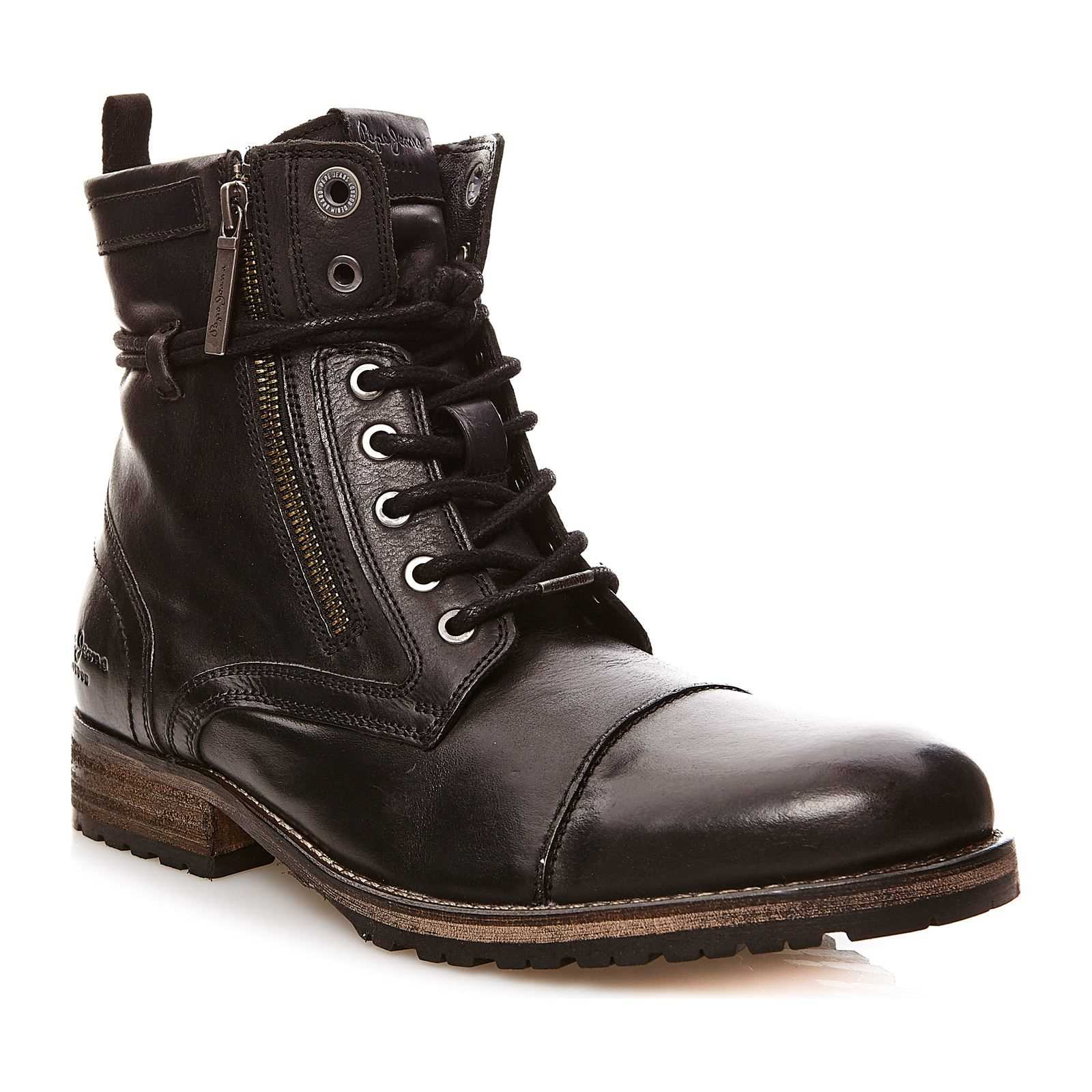 Pepe Jeans Footwear Melting Zipper New - Boots - noir