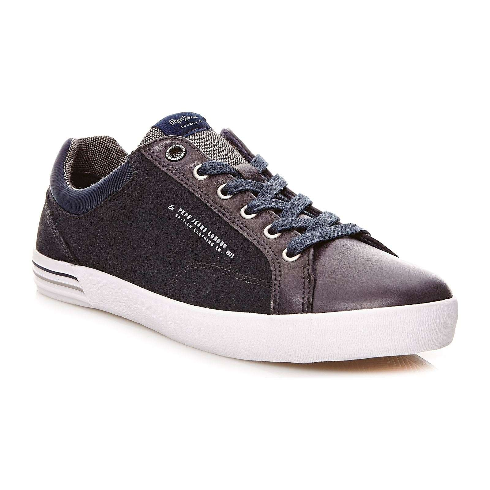 Pepe Jeans Footwear North Mix - Sneakers - bleu marine