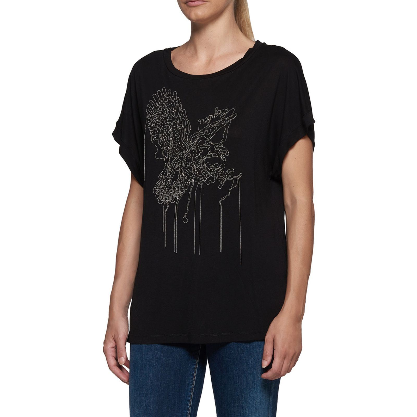 Replay T-shirt manches courtes - noir