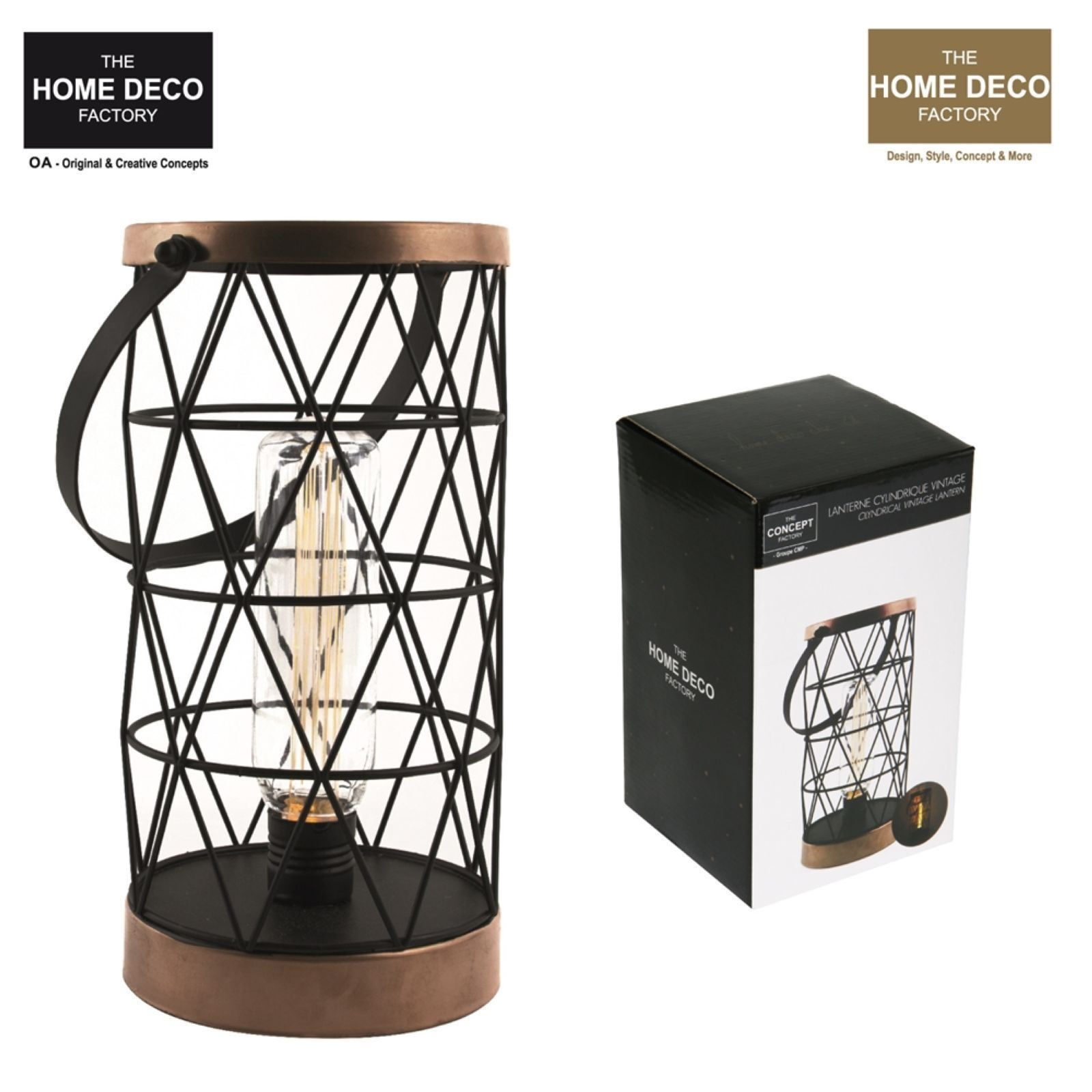 the home deco factory d coration lumineuse filaire cuivr brandalley. Black Bedroom Furniture Sets. Home Design Ideas
