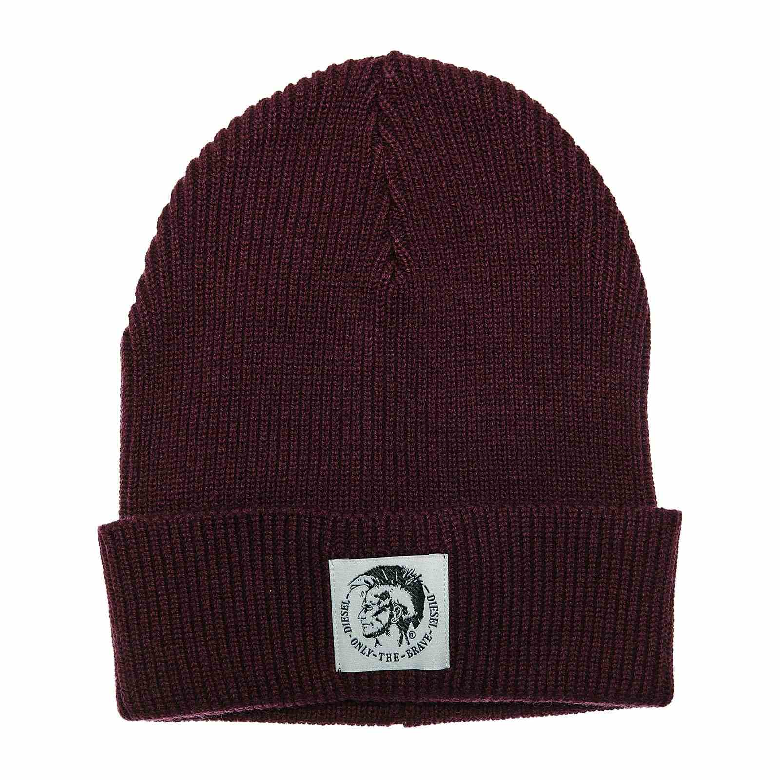 Diesel K-Coder - Bonnet - bordeaux