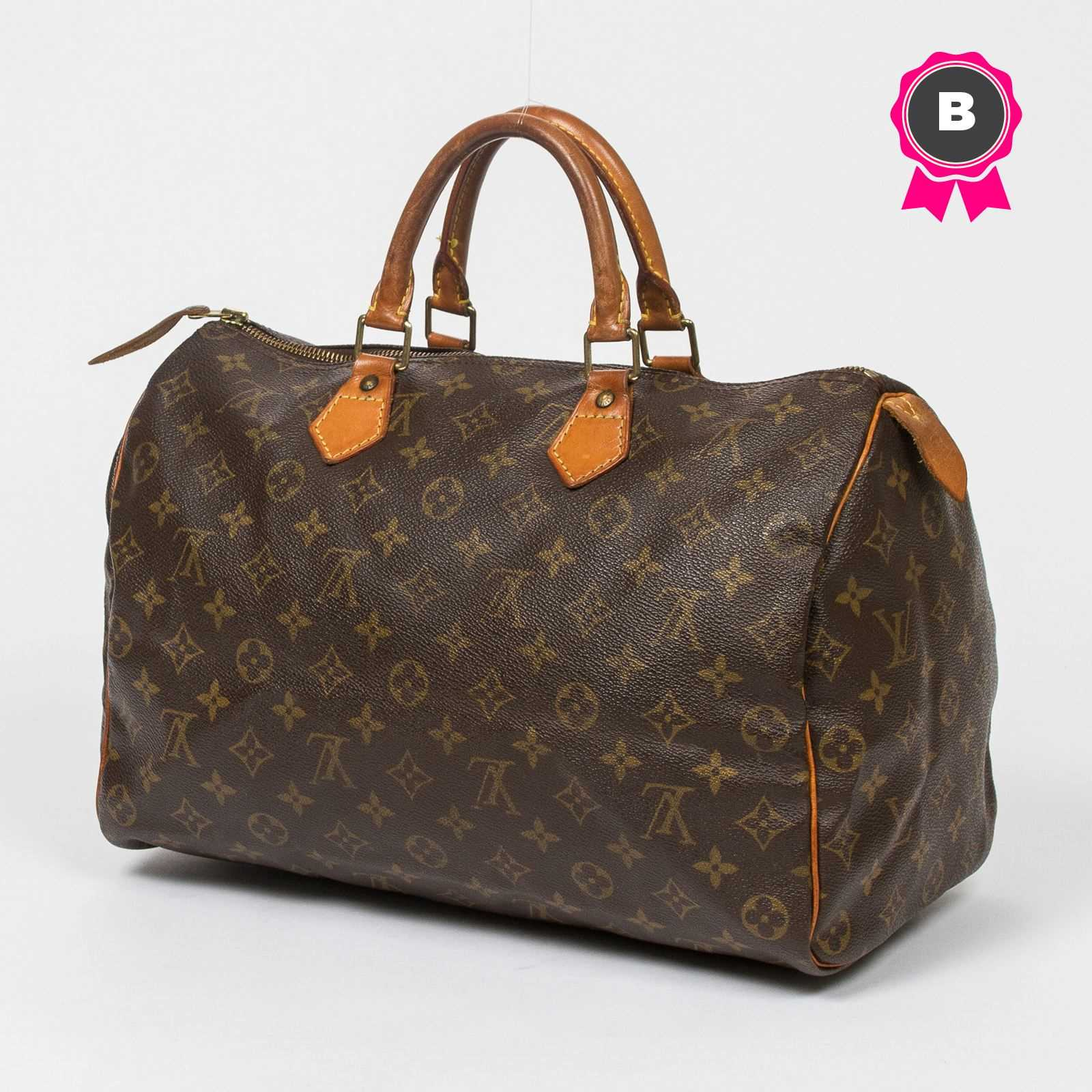 louis vuitton speedy 35 ohne rader monogram canvas brandalley. Black Bedroom Furniture Sets. Home Design Ideas