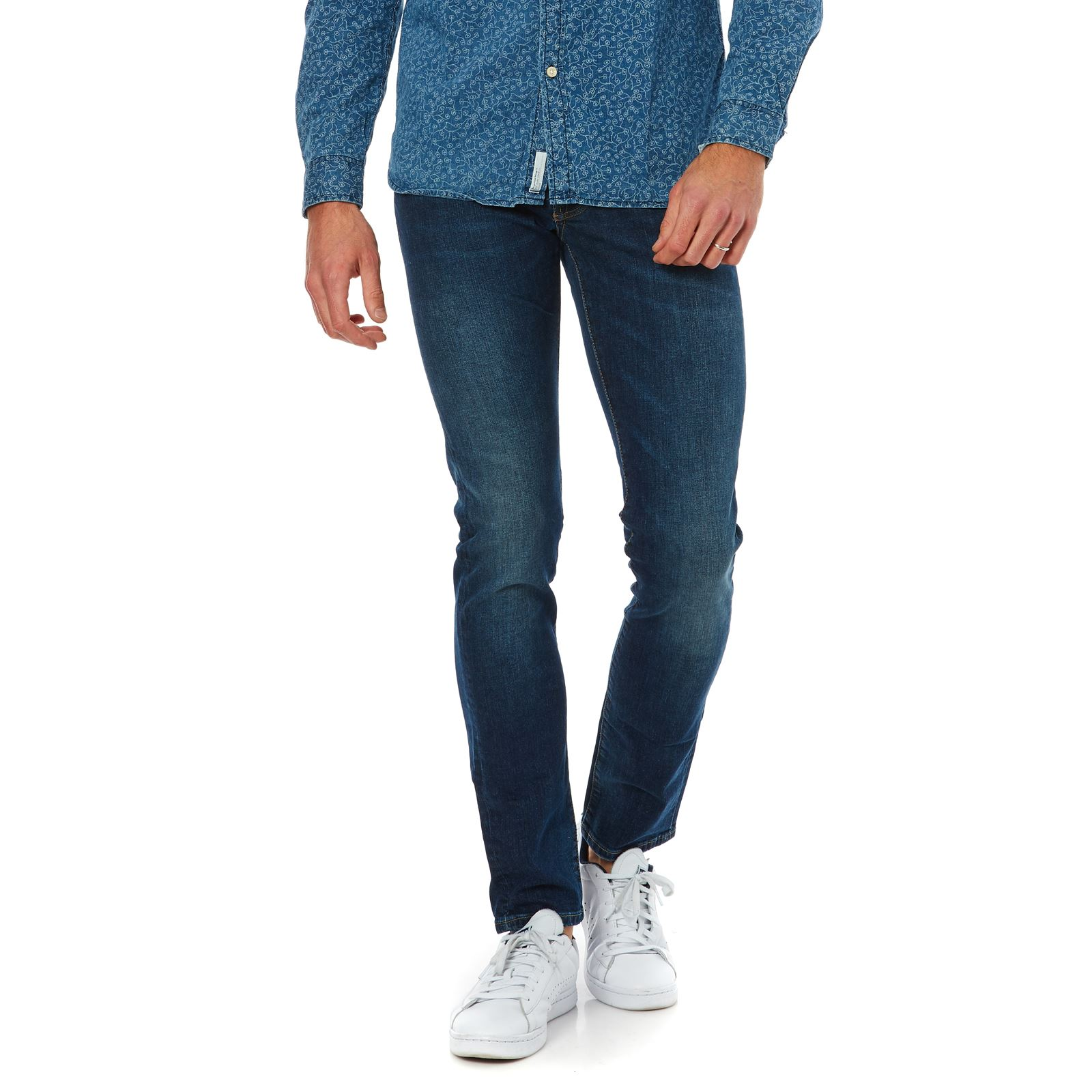 London Cane  Slim  Denim Bleu