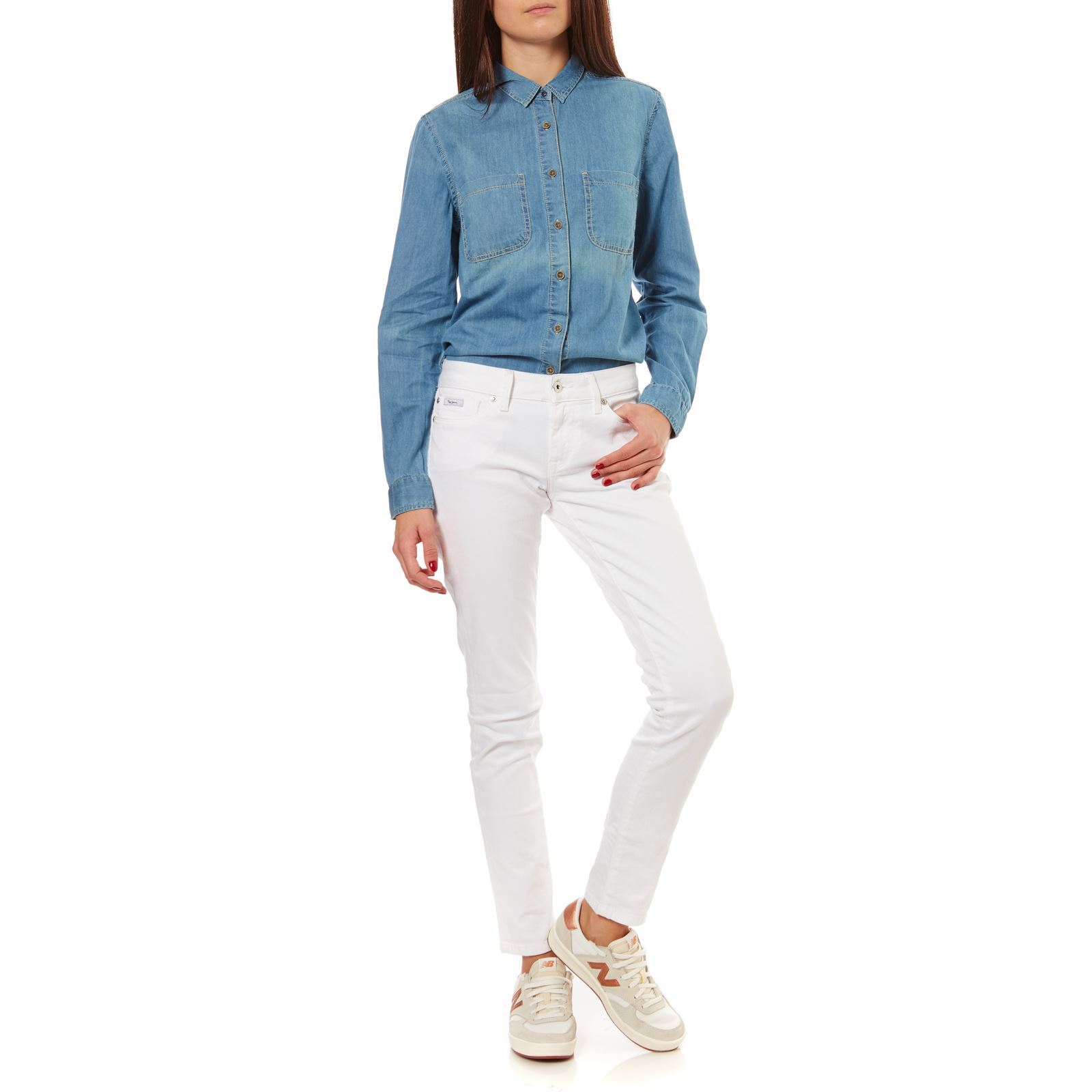 Pepe Jeans Slim Blanc London Soho Jean Brandalley qTrvqF