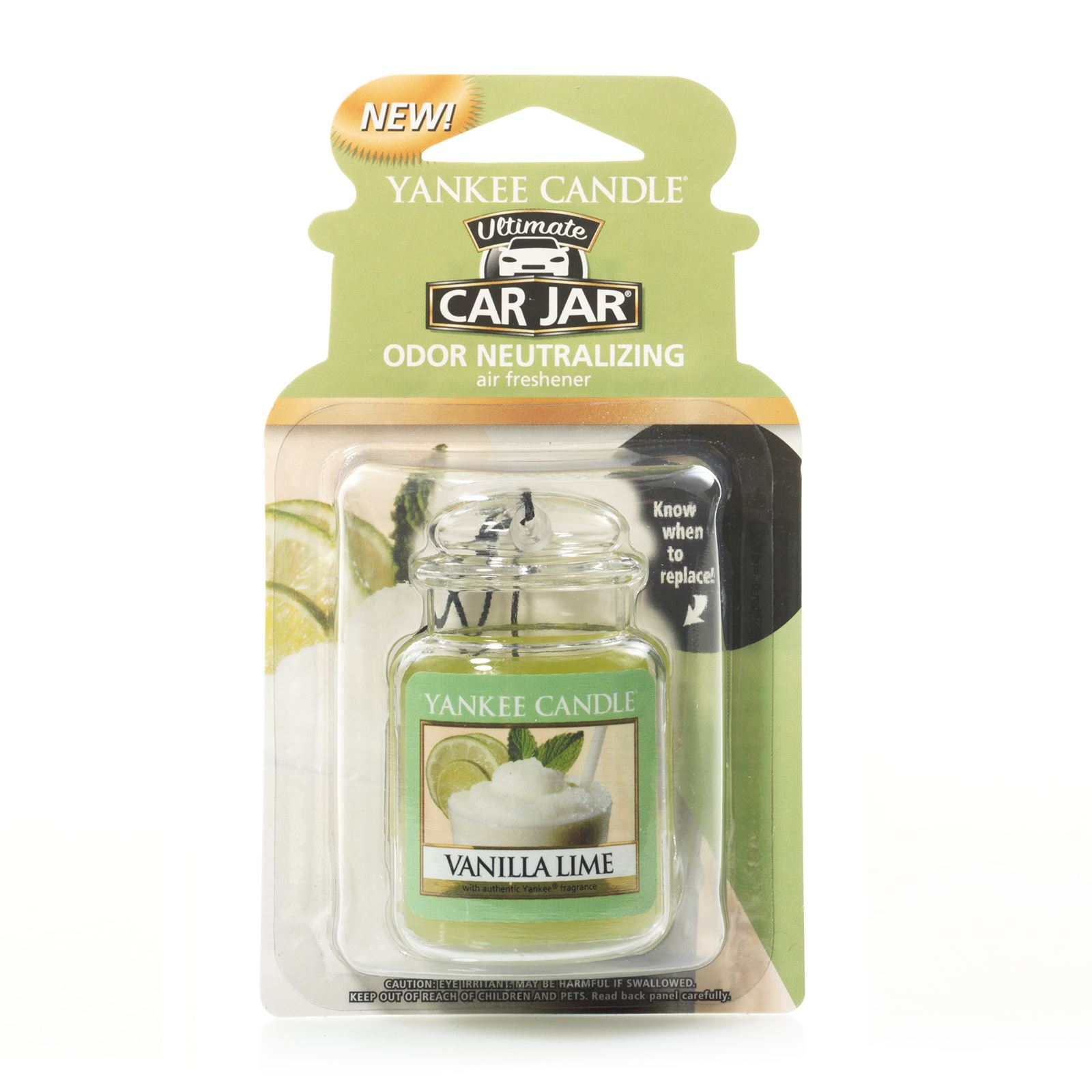 yankee candle vanille citron vert essenza profumata trasparente brandalley. Black Bedroom Furniture Sets. Home Design Ideas
