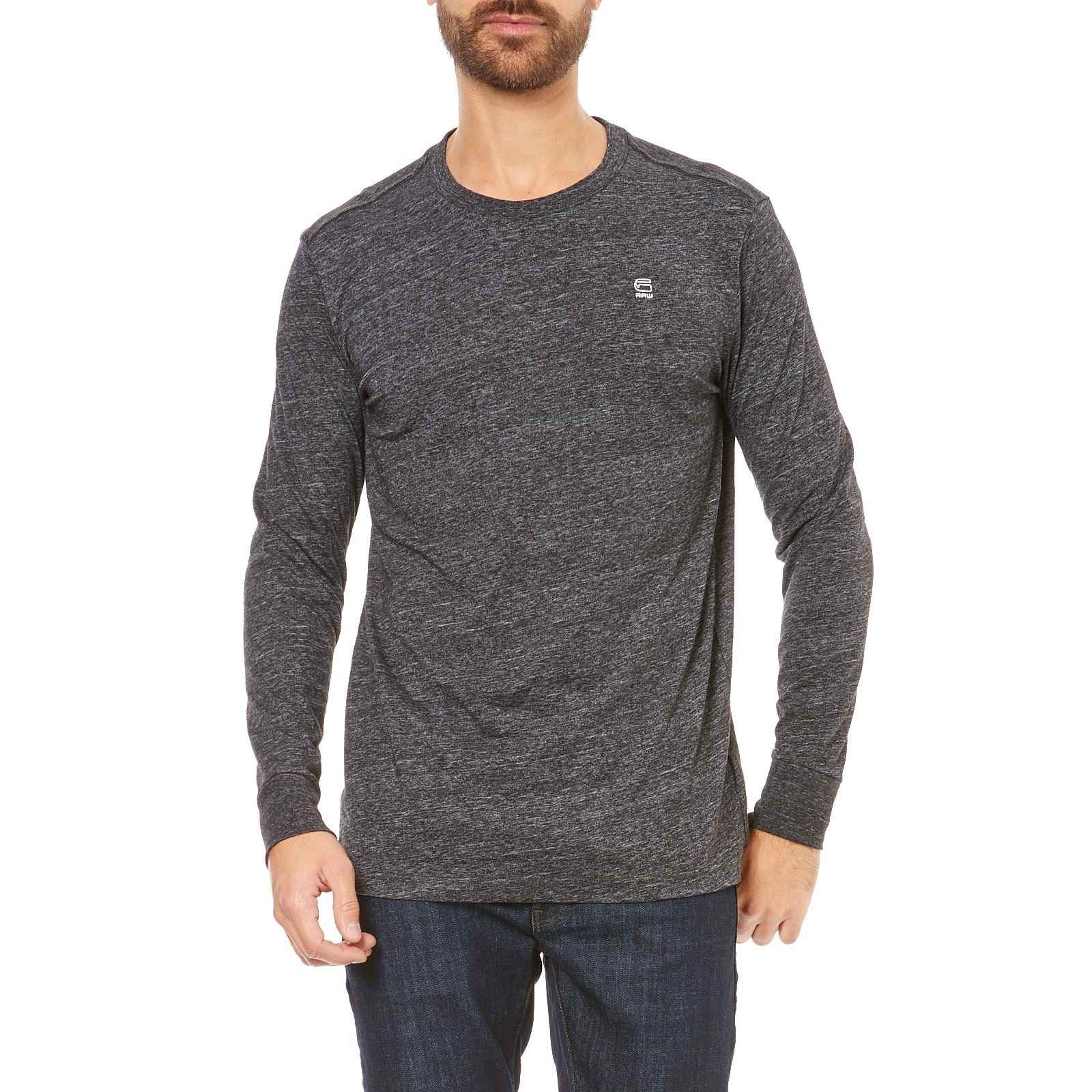 G Star Classic - T-shirt manches longues - gris