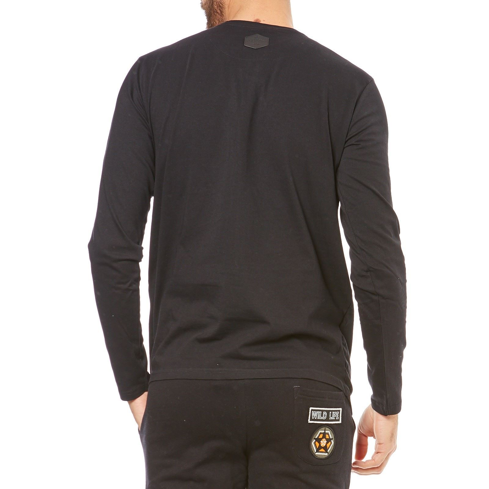 Hite couture t shirt manches courtes noir brandalley for Hite couture