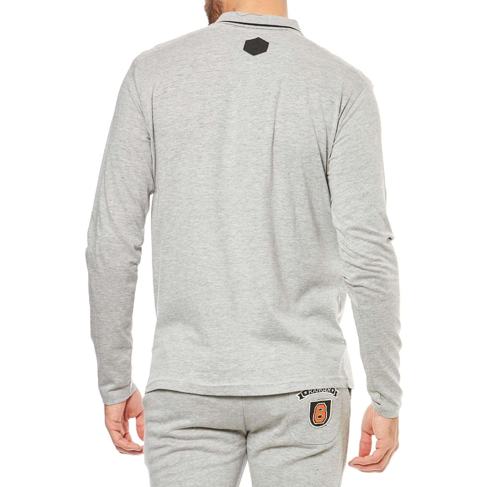 Hite couture polo de manga larga gris brandalley for Hite couture