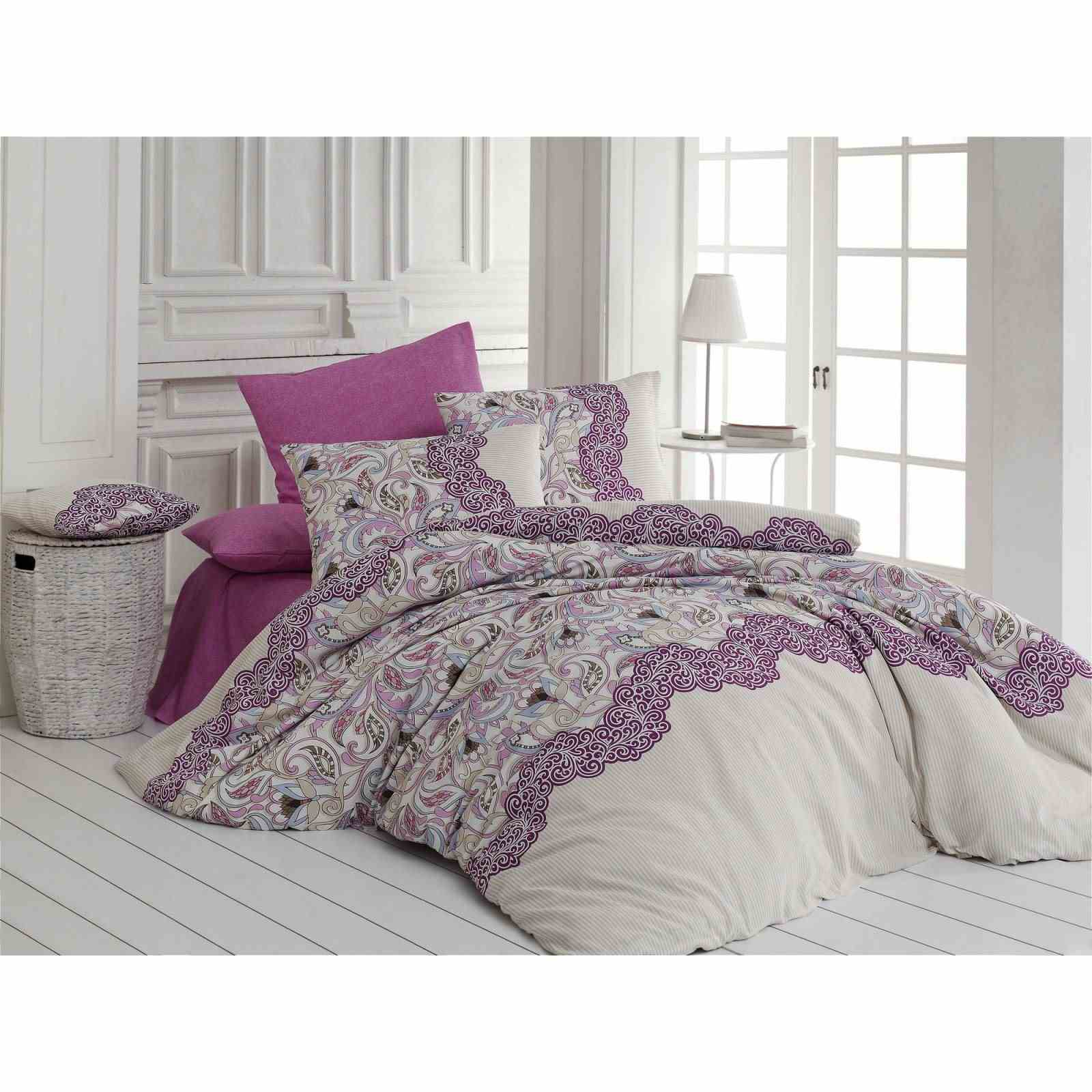 nazenin parure de lit rose brandalley. Black Bedroom Furniture Sets. Home Design Ideas