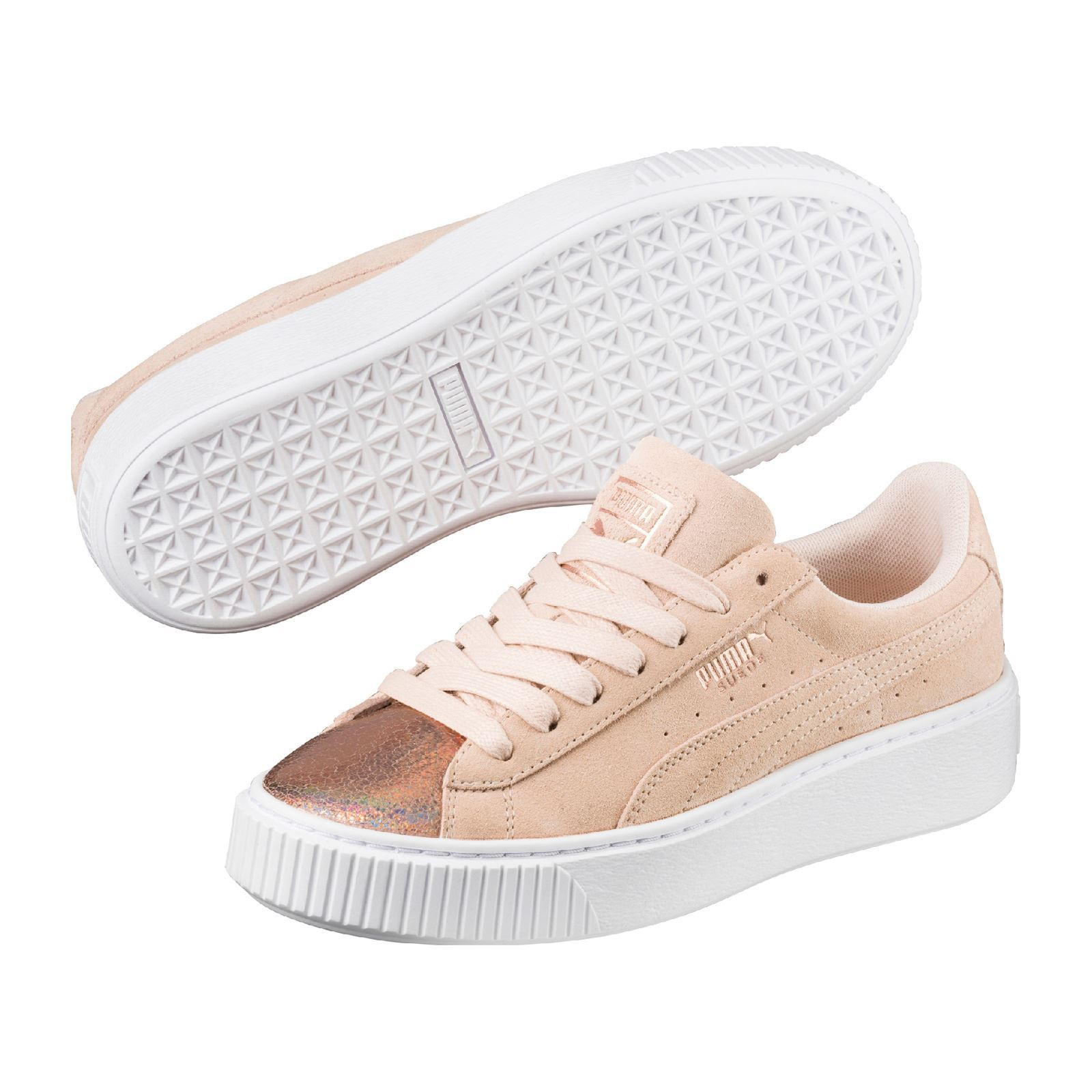 Puma Lunalux - Baskets en cuir - rose