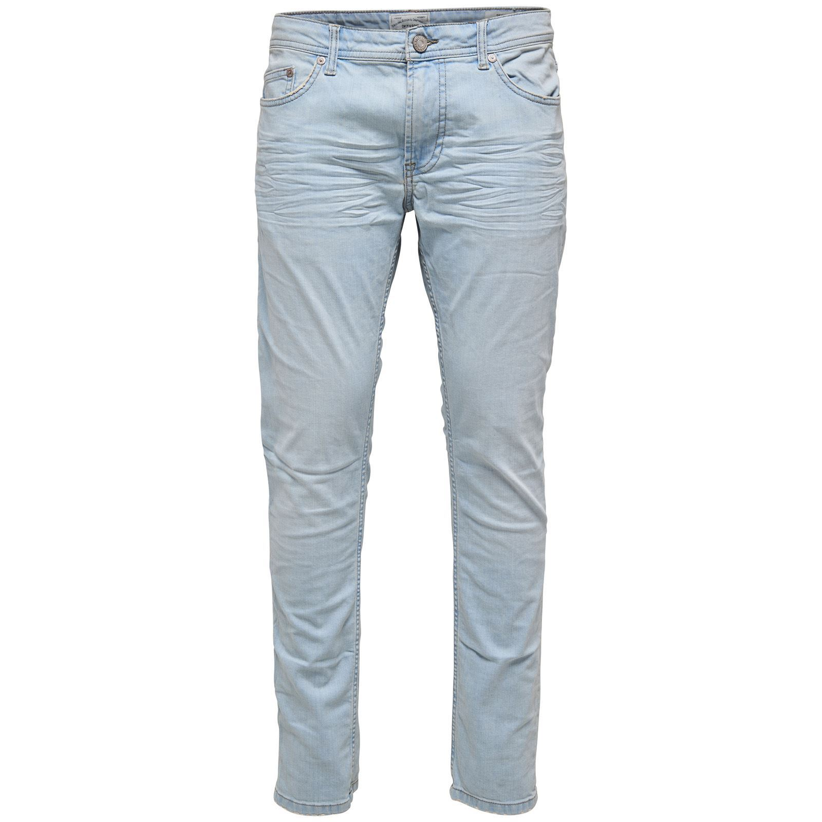 Only  sons Jean skinny - bleu clair