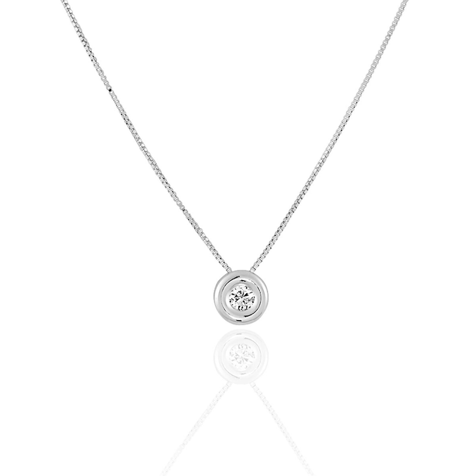 cleor collier diamant