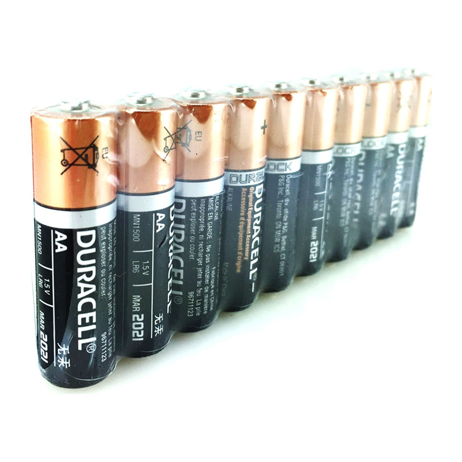 duracell 10 piles alcalines aa lr6 sous cellophane brandalley. Black Bedroom Furniture Sets. Home Design Ideas