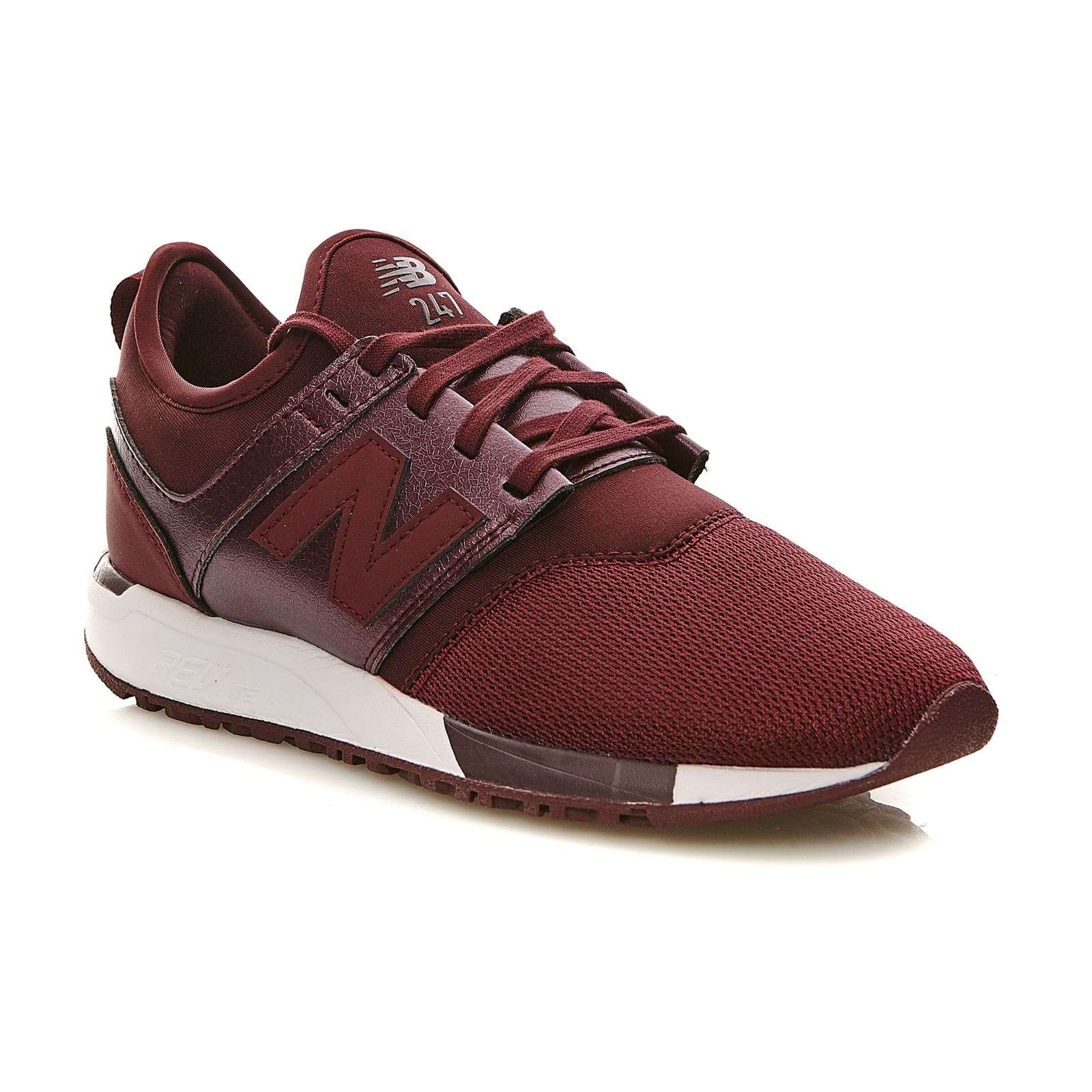 New Balance WRL247 B - Baskets Mode - bordeaux