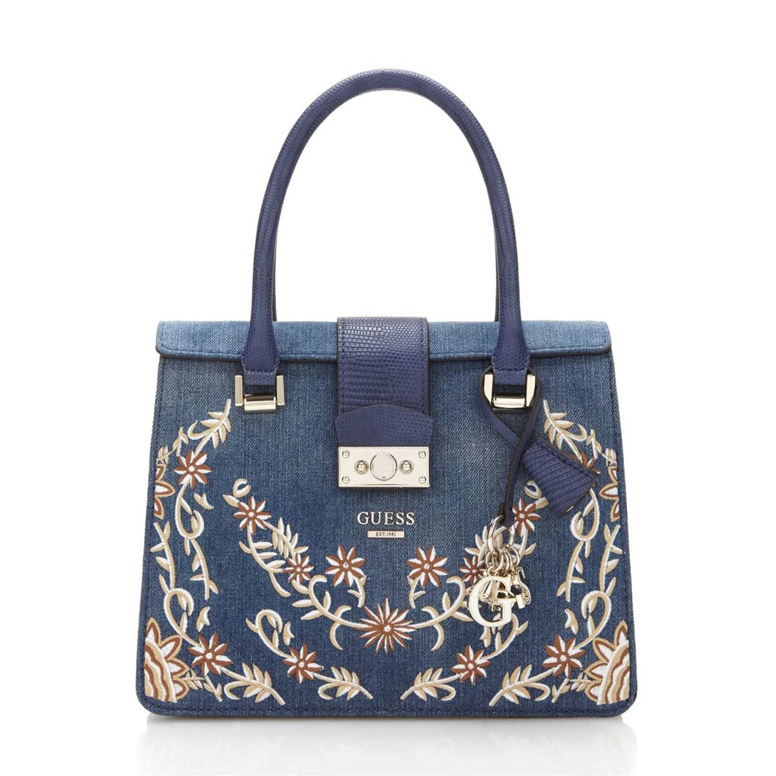 Guess Arianna - Sac à main - denim bleu